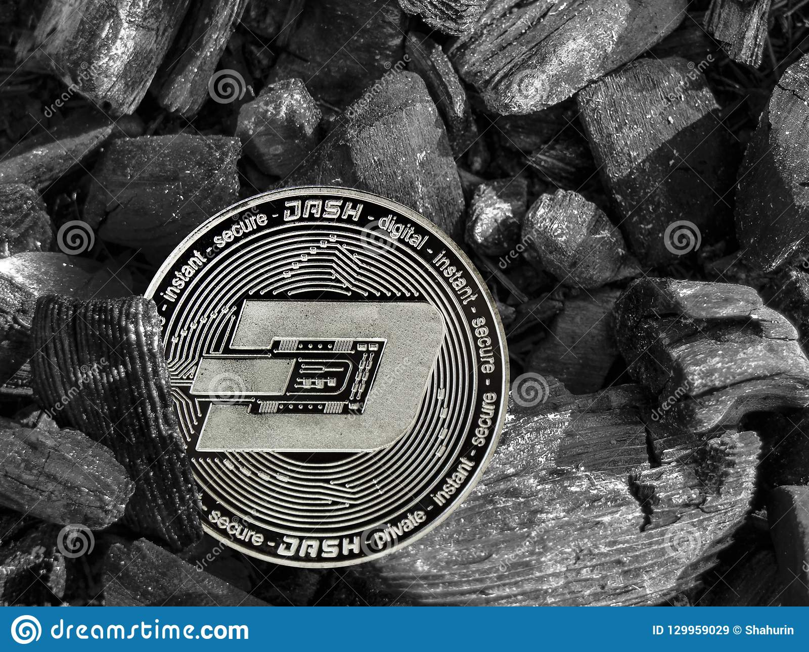 Cryptocurrency Dash Coin Lies On Coal  Mining And Energy For Mining