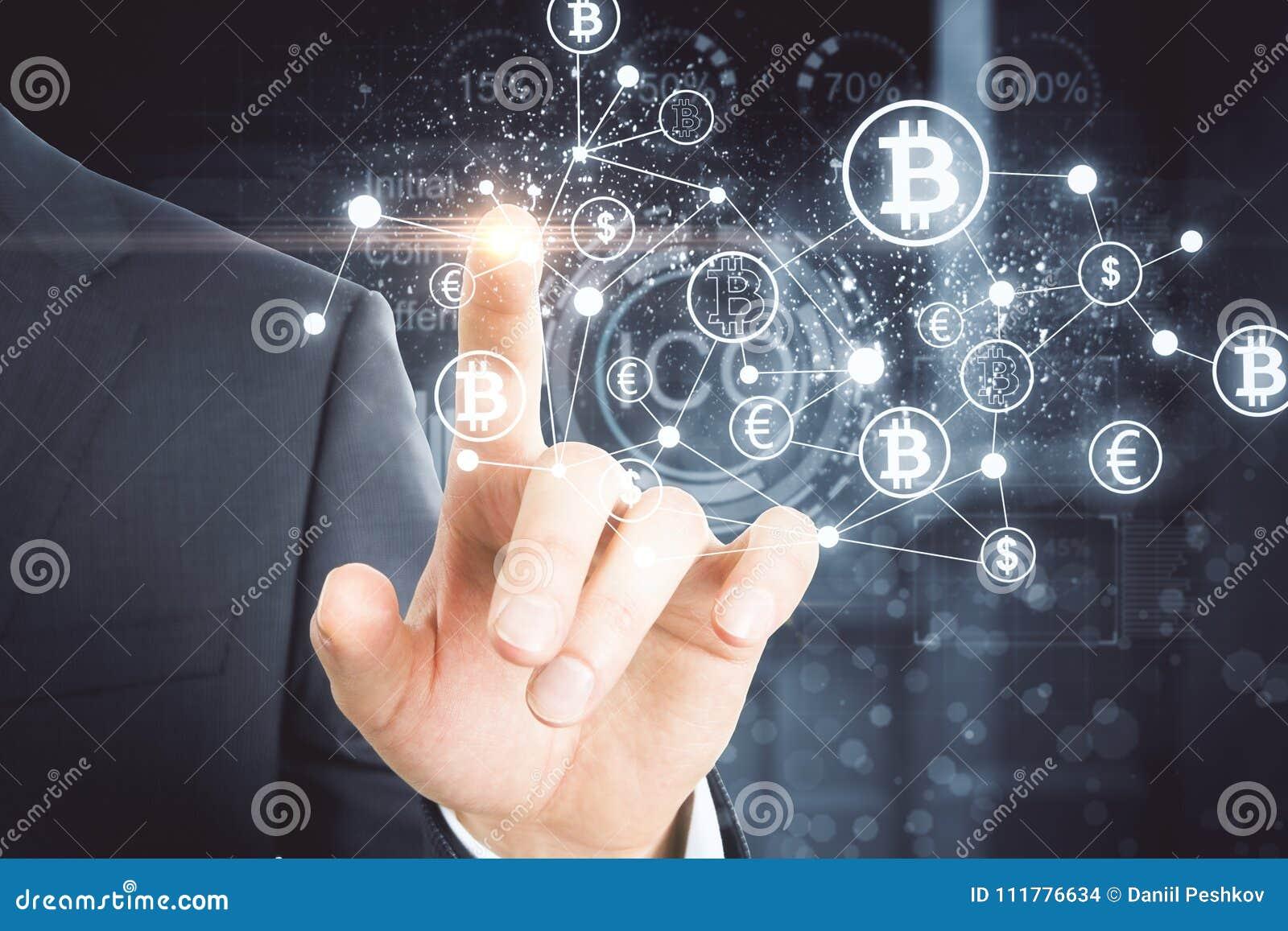 Cryptocurrency e concetto di pagamento