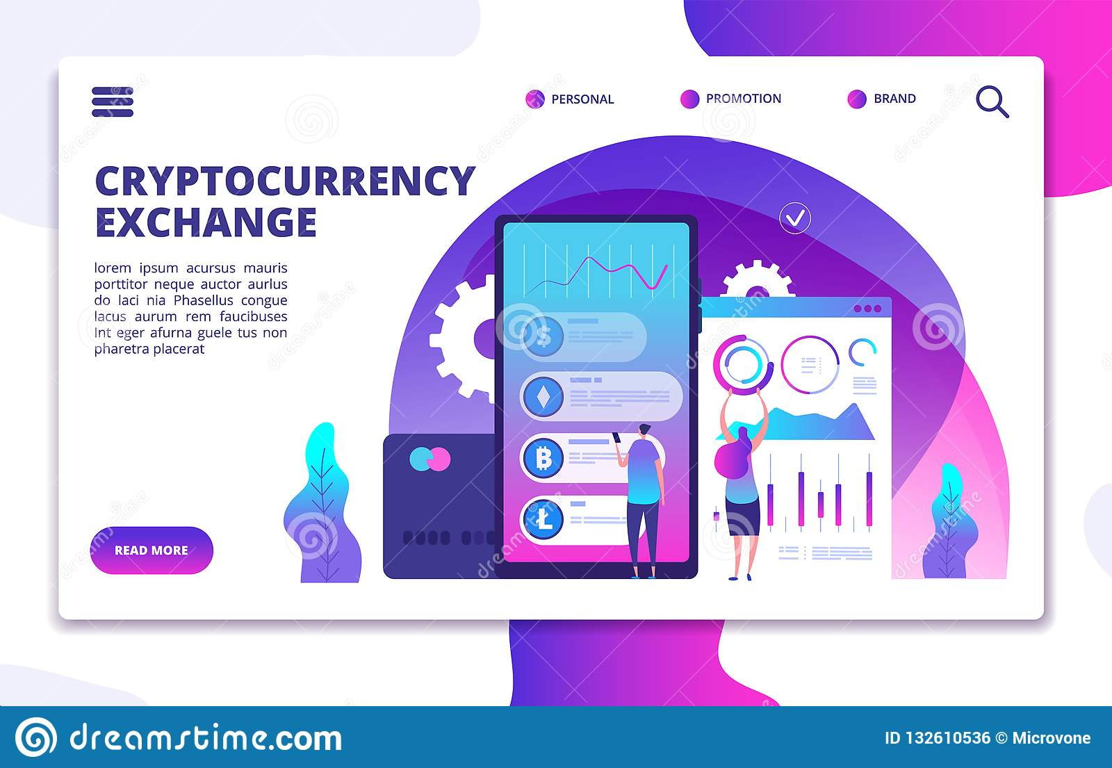 cryptocurrency exchange business account