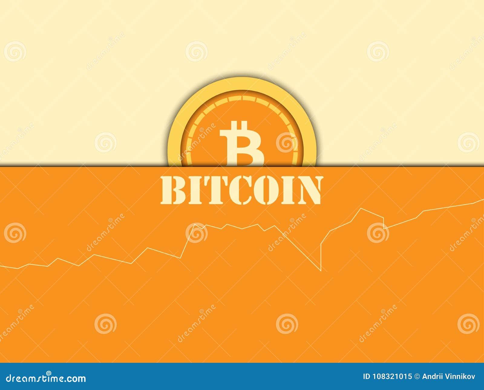 Cryptocurrency Moneda de Bitcoin, diagrama Bloqueo del sistema Vector i