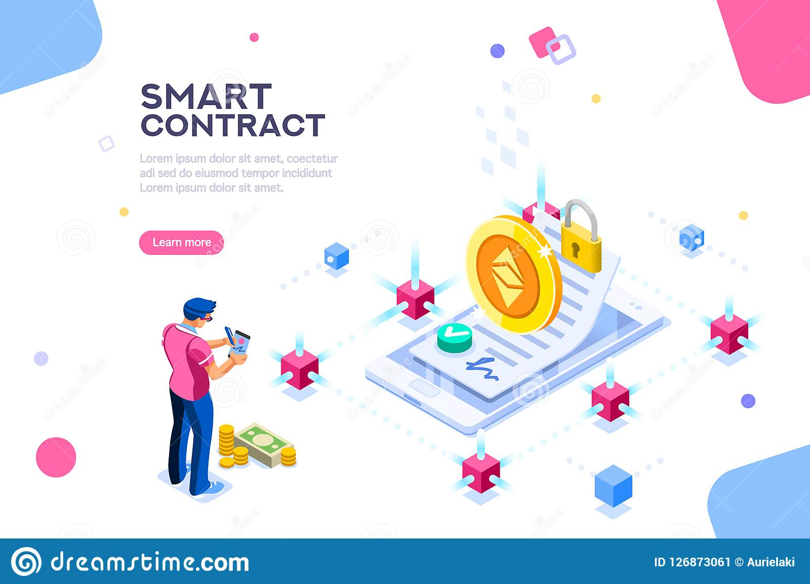 Smart Contract Cryptography Concept Template