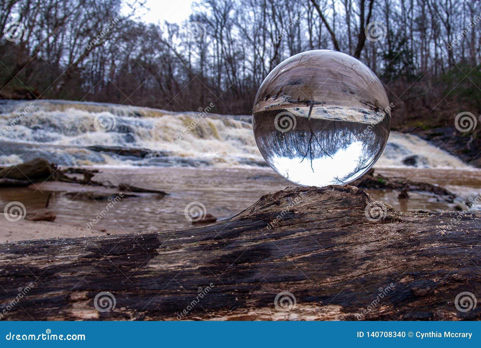 Crystal Ball Inverts Image