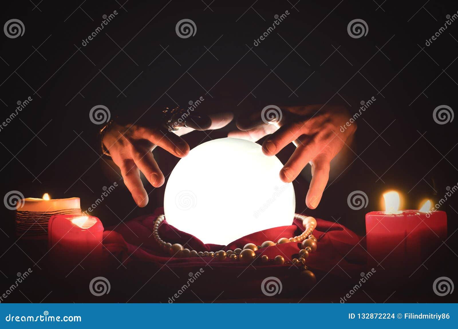 Crystal ball  stock photo  Image of magic, future, ball