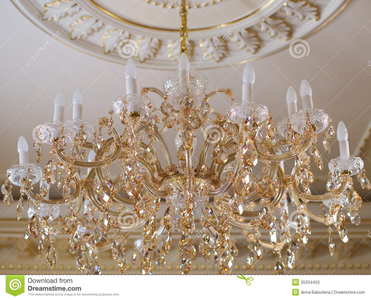 White Crystal Chandeliers