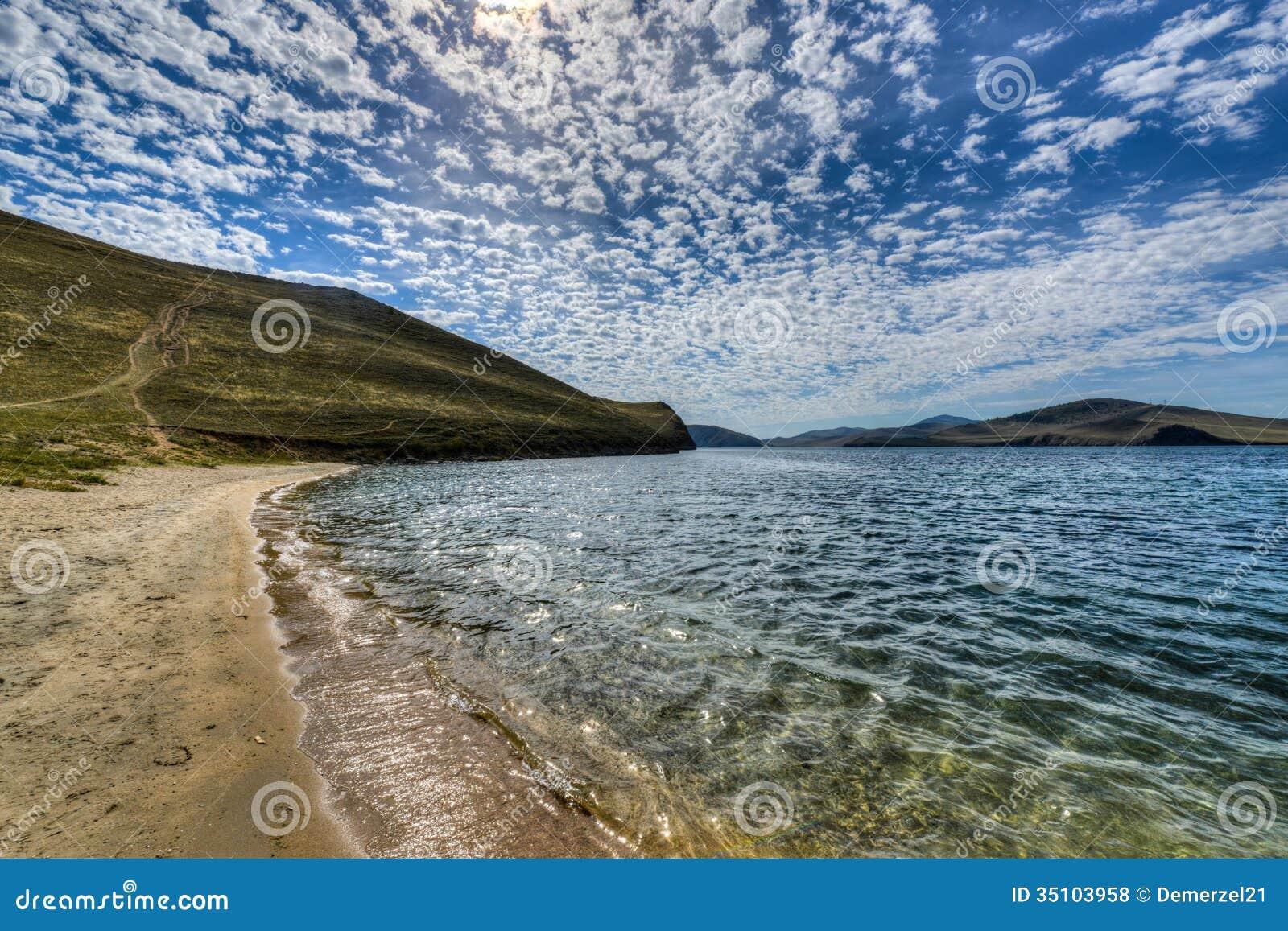 Crystal Clear Lake Baikal en Russie