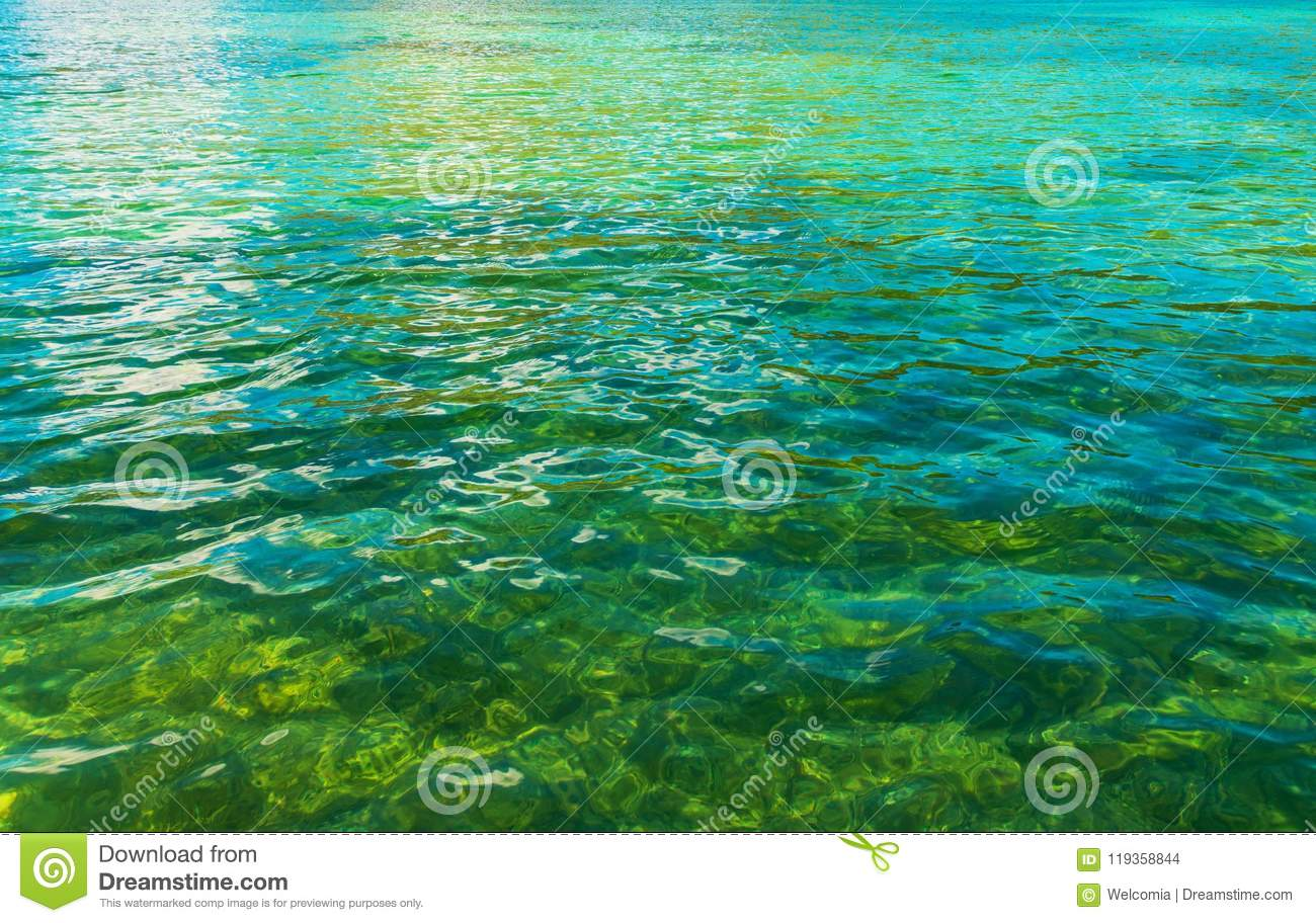 Crystal Clear Lake Water