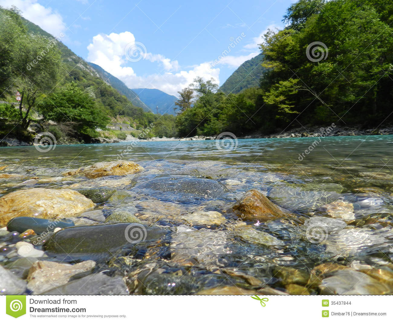 the crystal clear water of a mountain river abkhazia stock photo image of cloud ecology. Black Bedroom Furniture Sets. Home Design Ideas