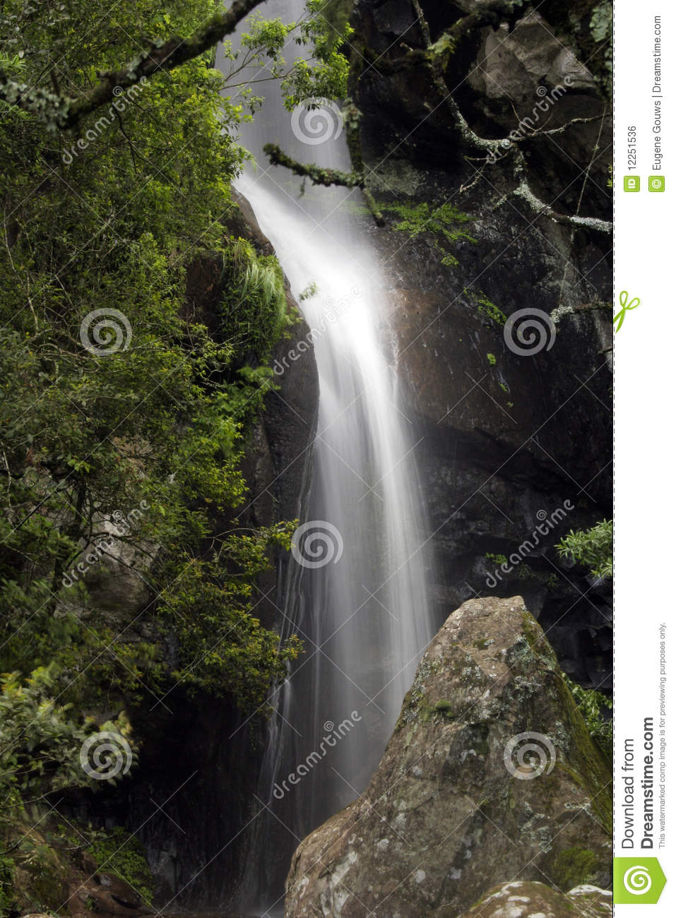 Crystal falls royalty free stock image image 12251536 for Crystal falls
