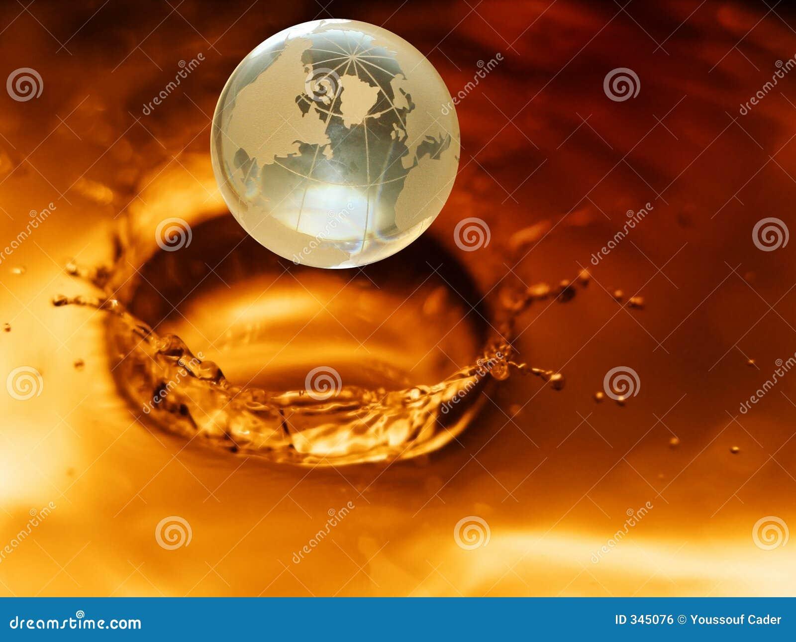 Crystal globe #3