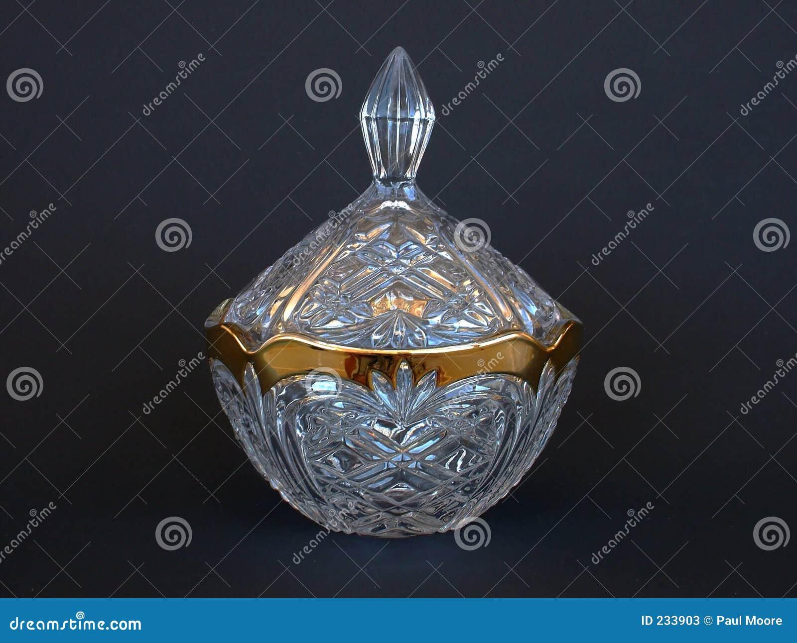 Crystal guldjar