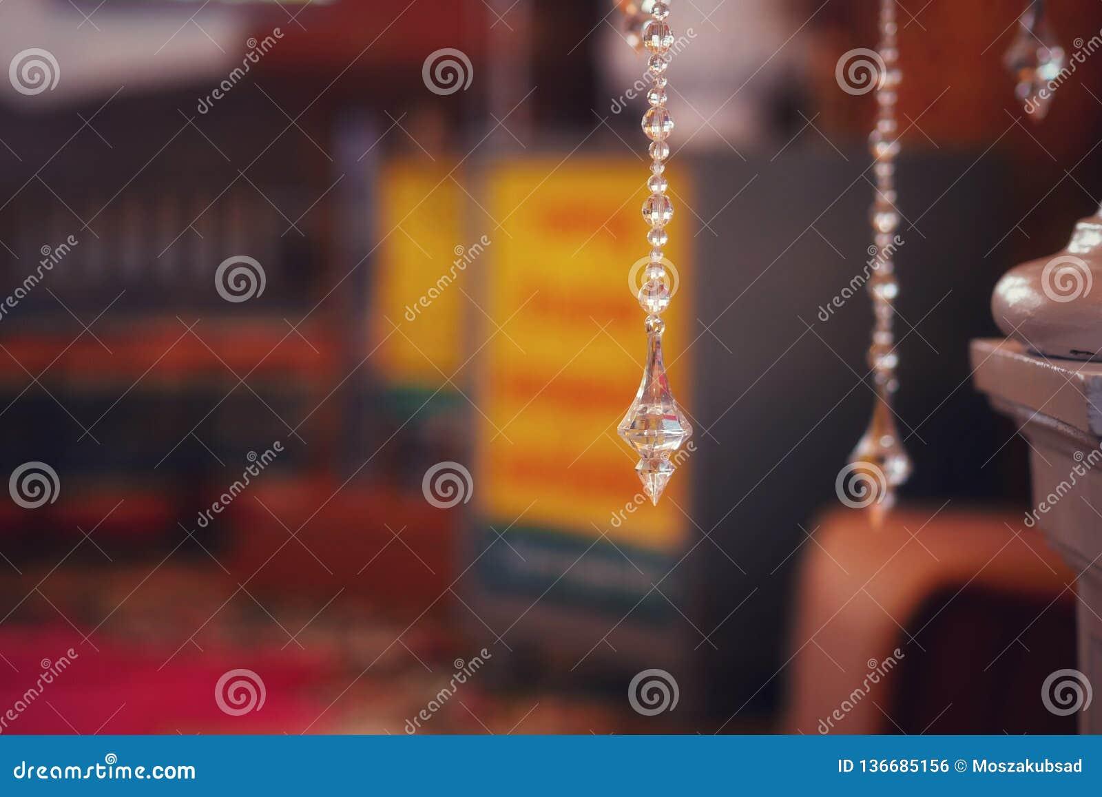 Crystal Hanging or Pendulum Crystal