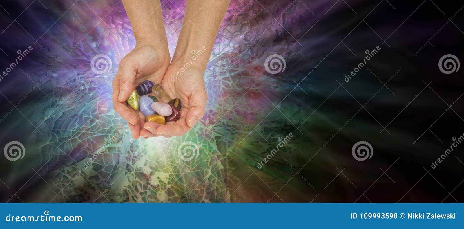 Crystal Healer Offering Set des cristaux de Chakra