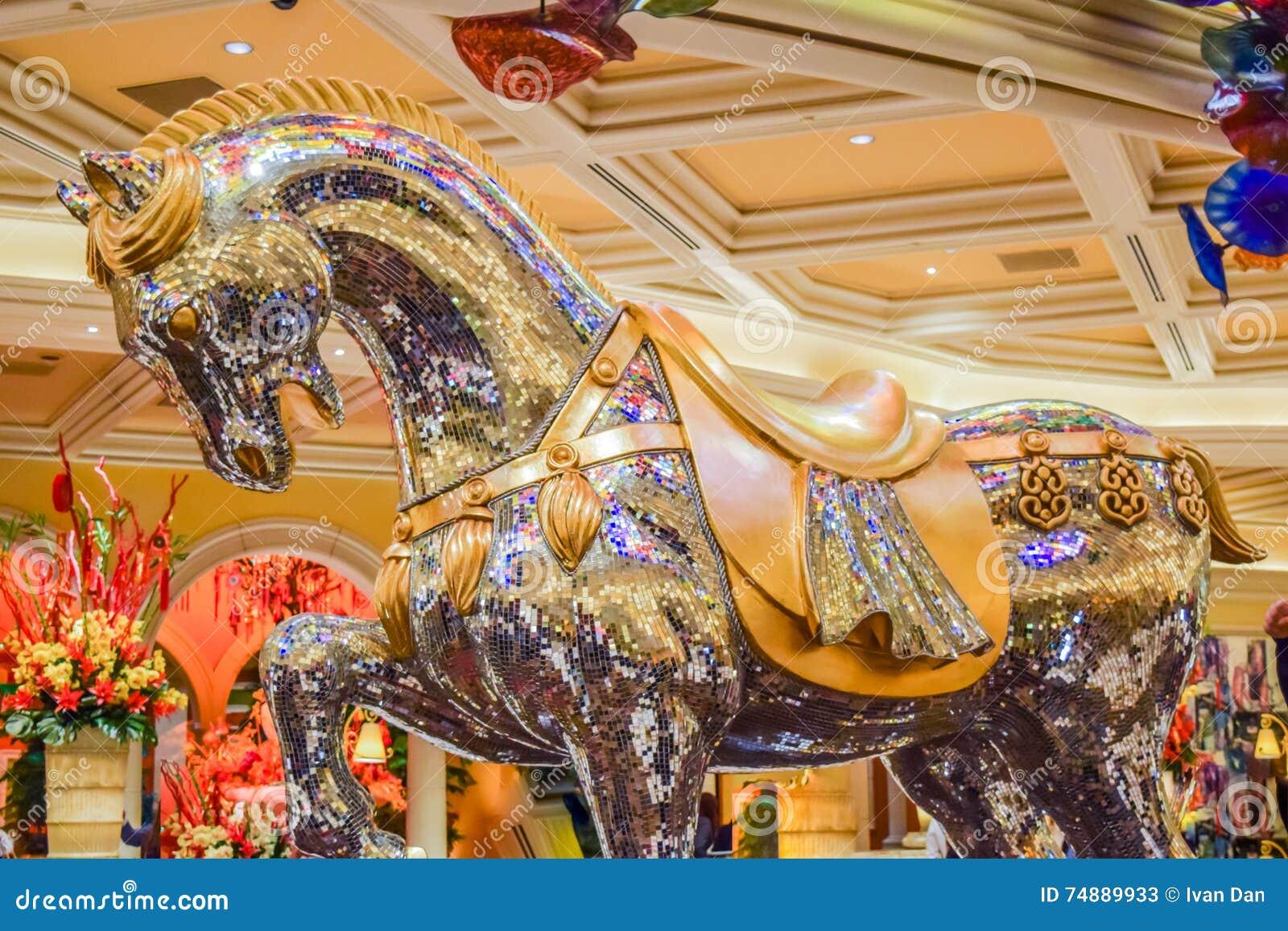 Crystal Horse em Bellagio