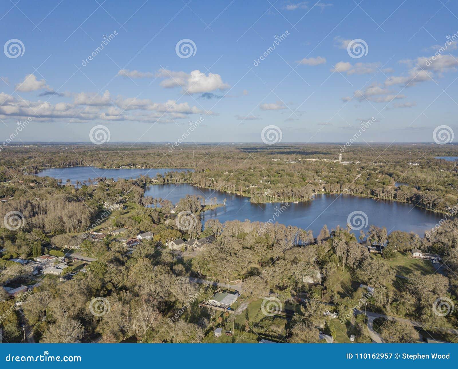 Crystal Lakes nära Tampa, Florida