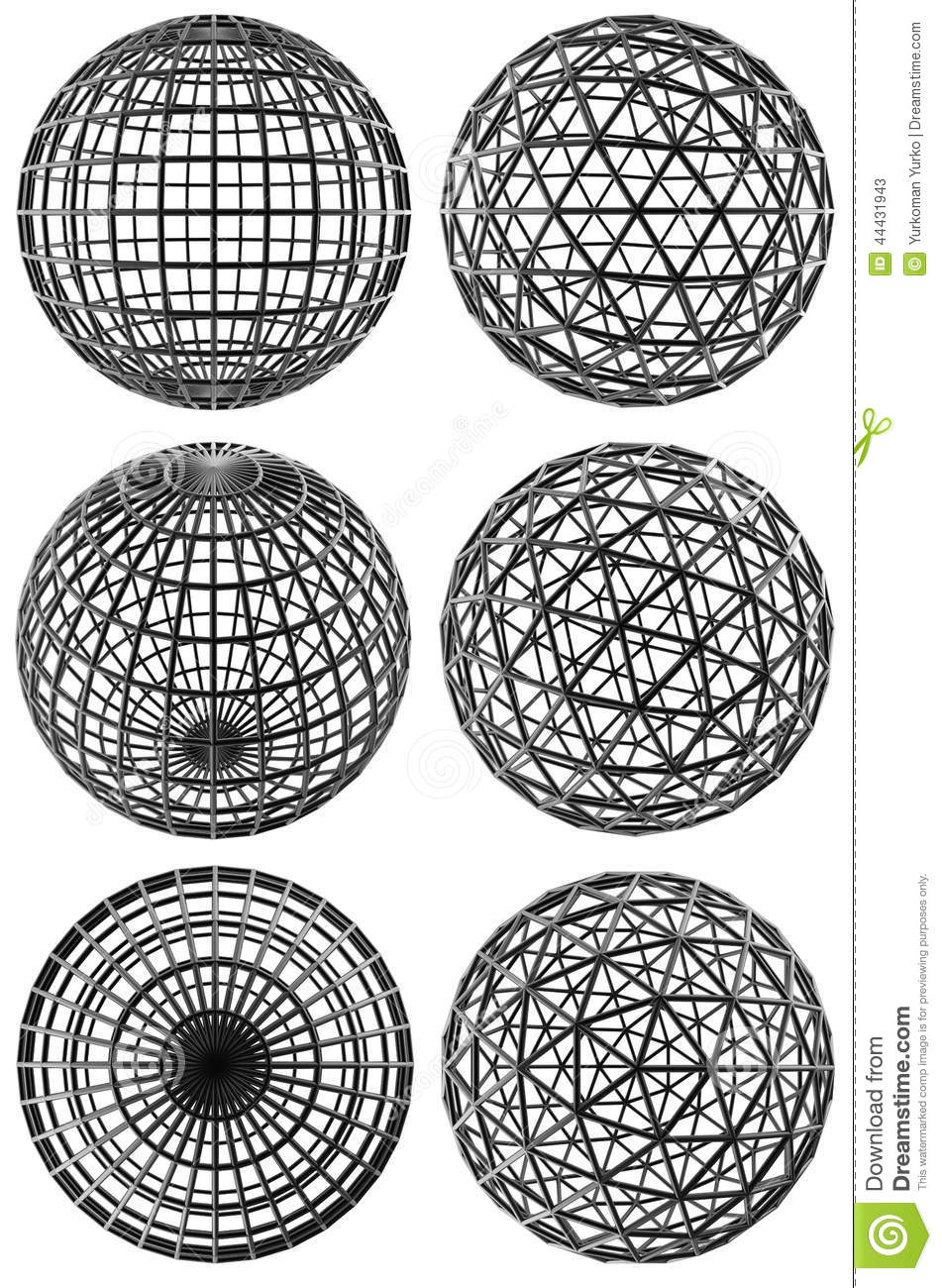 Crystal lattice stock illustration  Illustration of