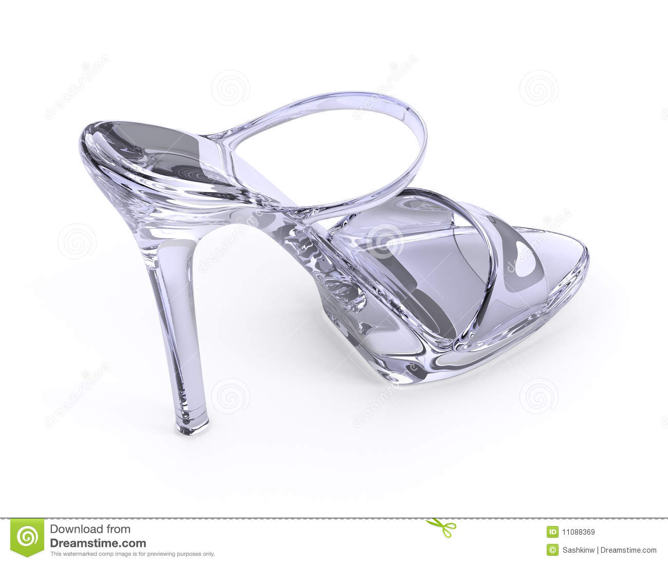 crystal modern high heels shoe royalty free stock images. Black Bedroom Furniture Sets. Home Design Ideas