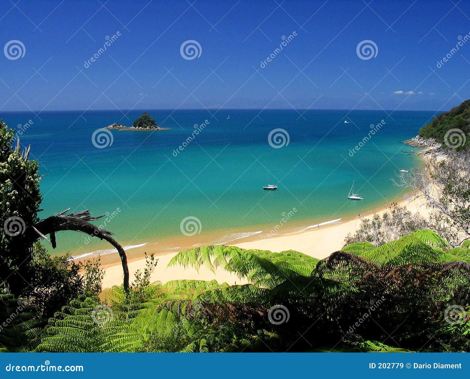 Crystal plażowa wody.