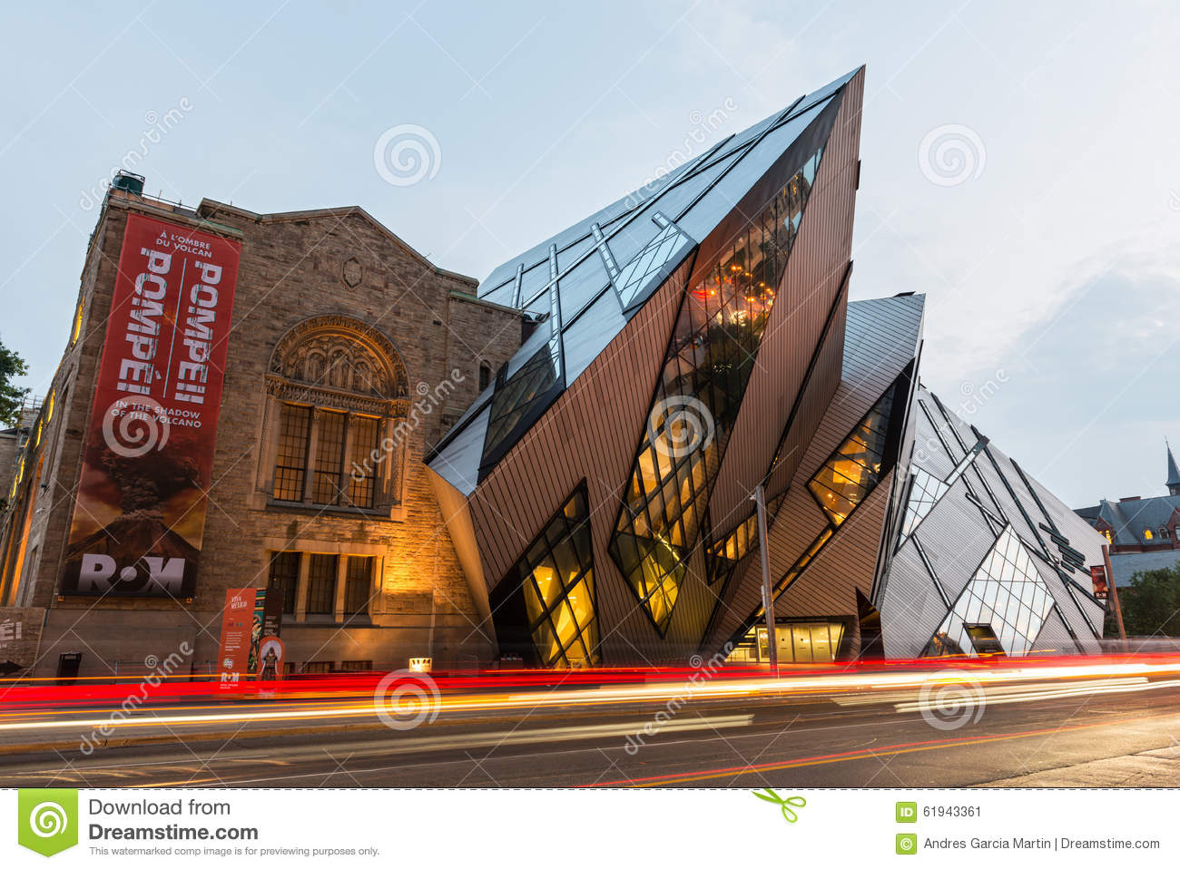 The Crystal in the Royal Ontario Museum, Toronto