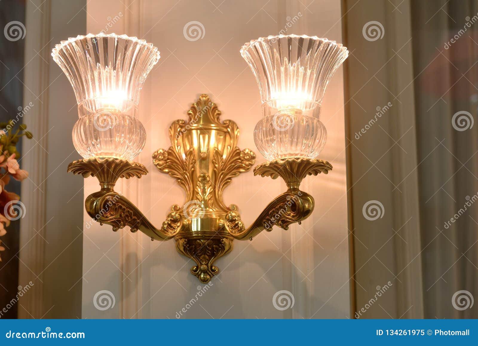 Wall Fitting Bracket Light Wall Lamp Stock Image Image Of City Elegant 134261975