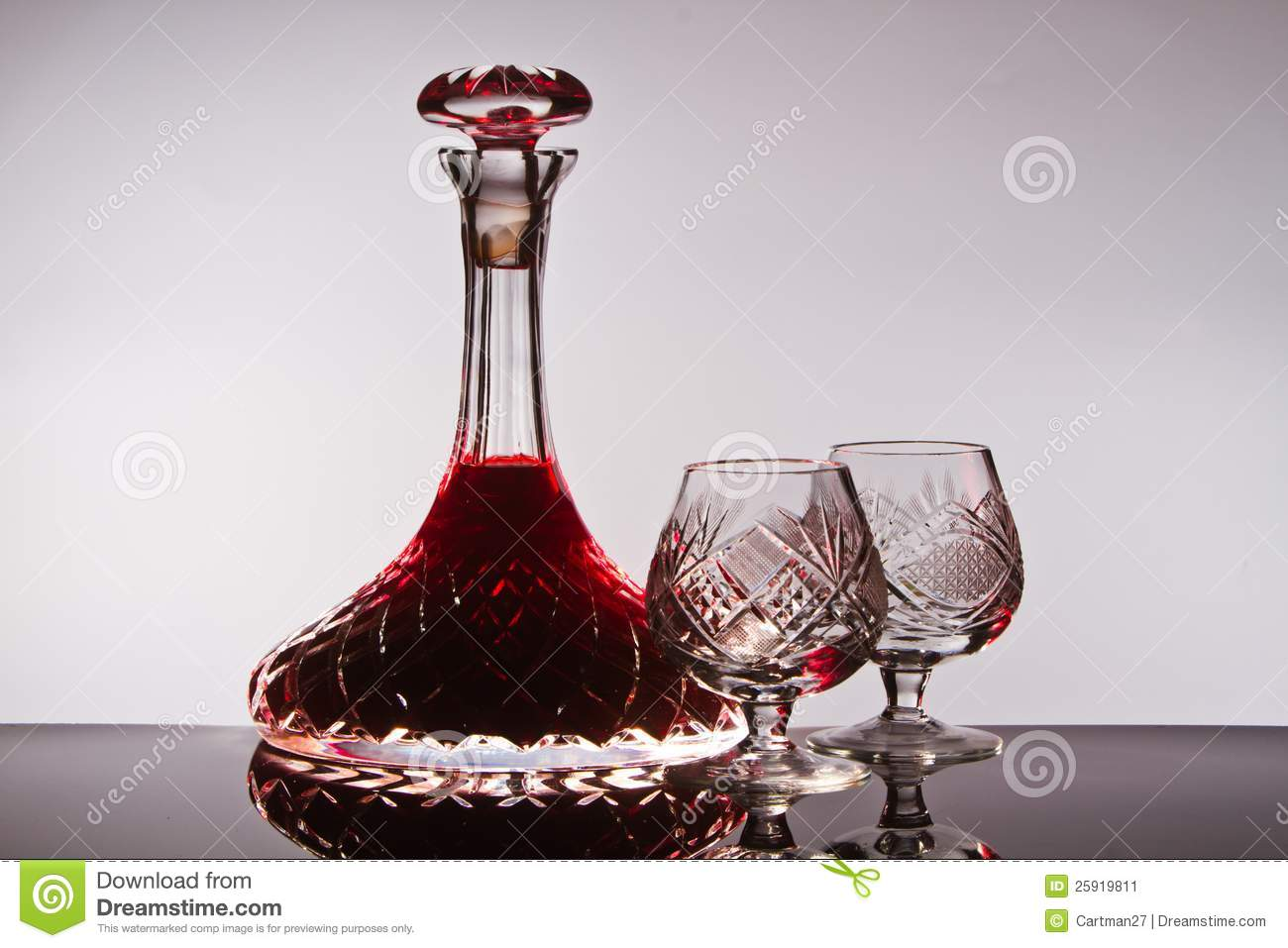 Crystal wine decanter stock image image of alcohol for What is wine decanter