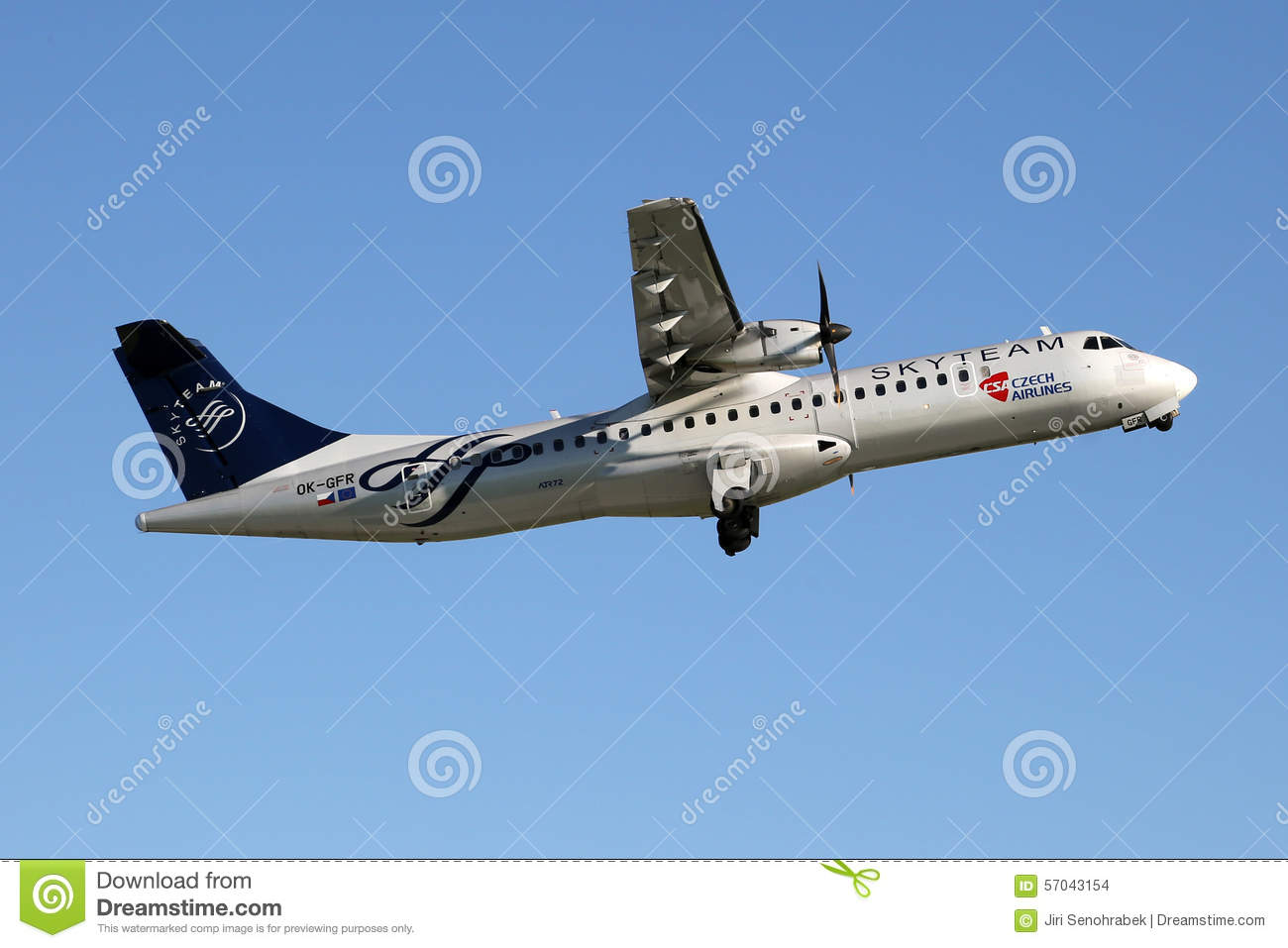 - Image skyteam Airlines Of Editorial Stock Csa Czech