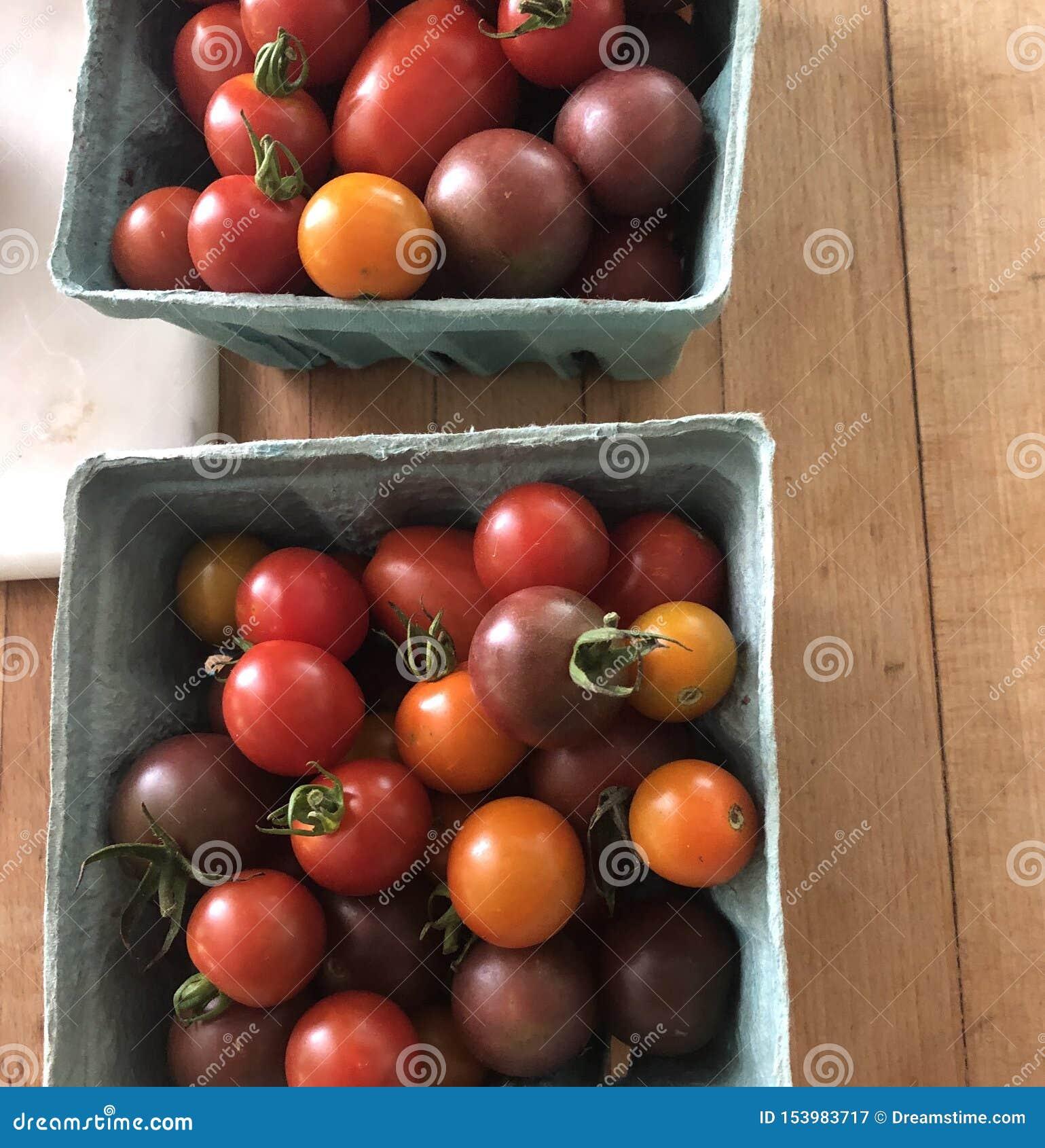 Csa de tomates-cerises