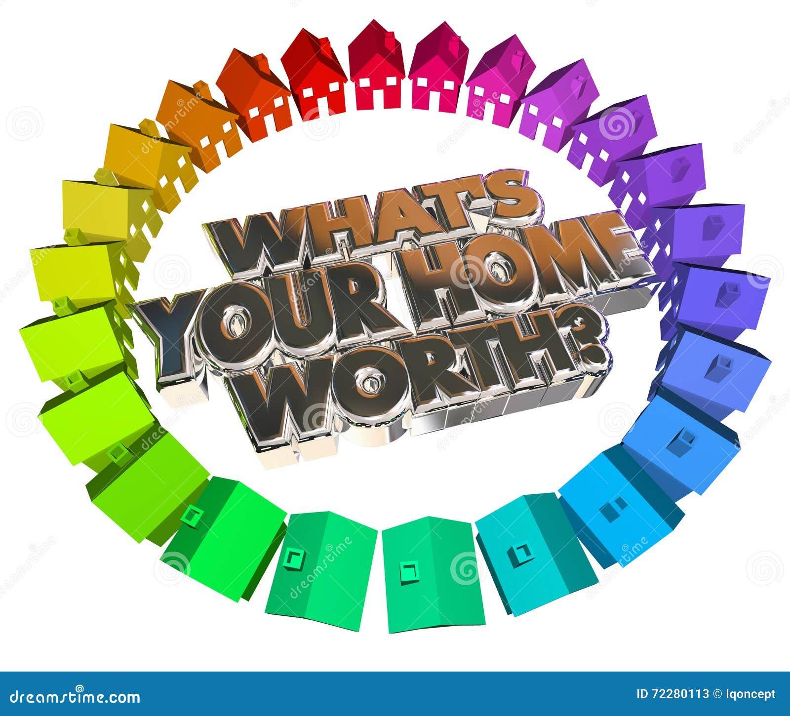 Cuál es su casero digno de palabras del activo 3d de Real Estate del valor de la casa