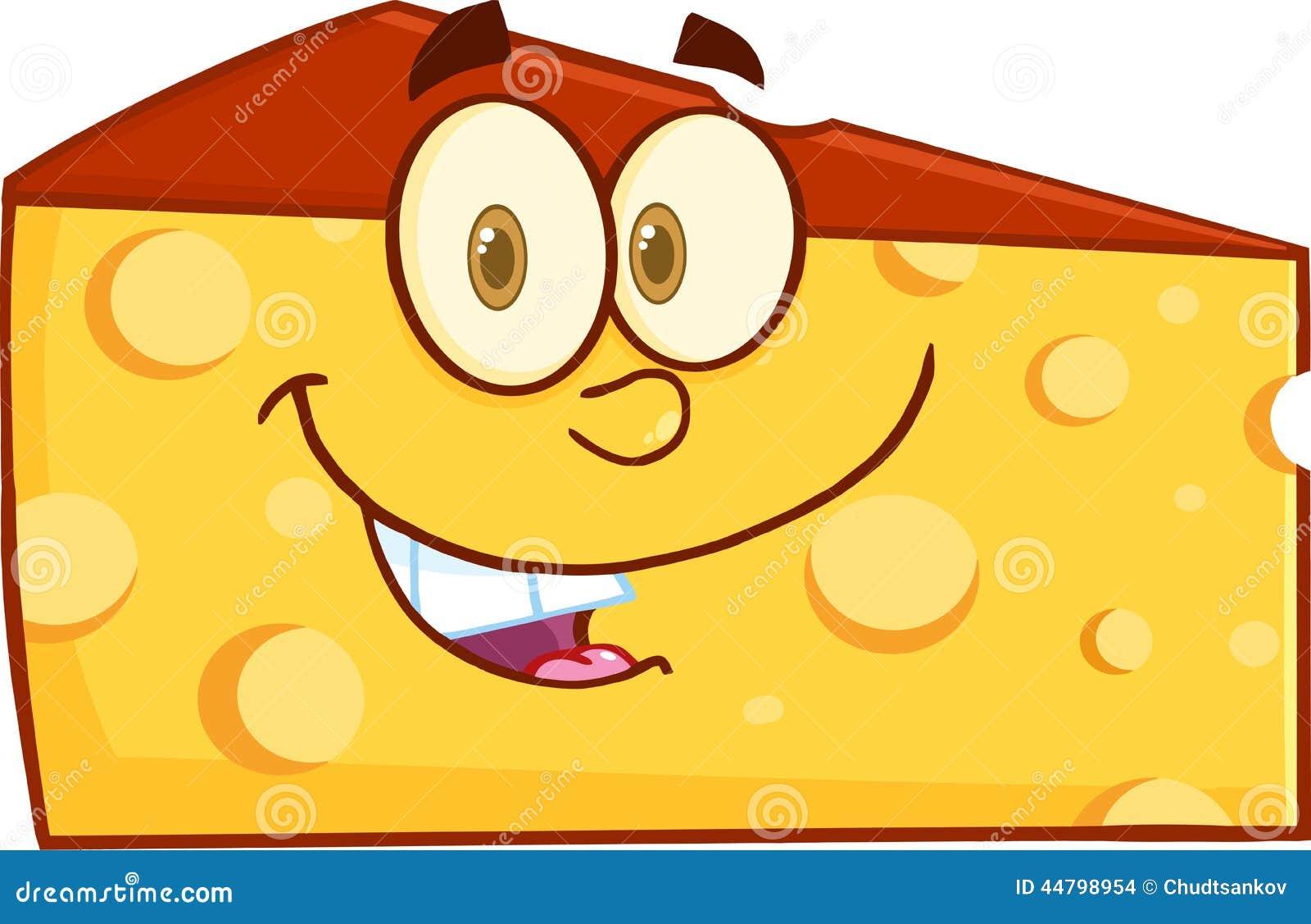 Cartoon Cheese Wedge