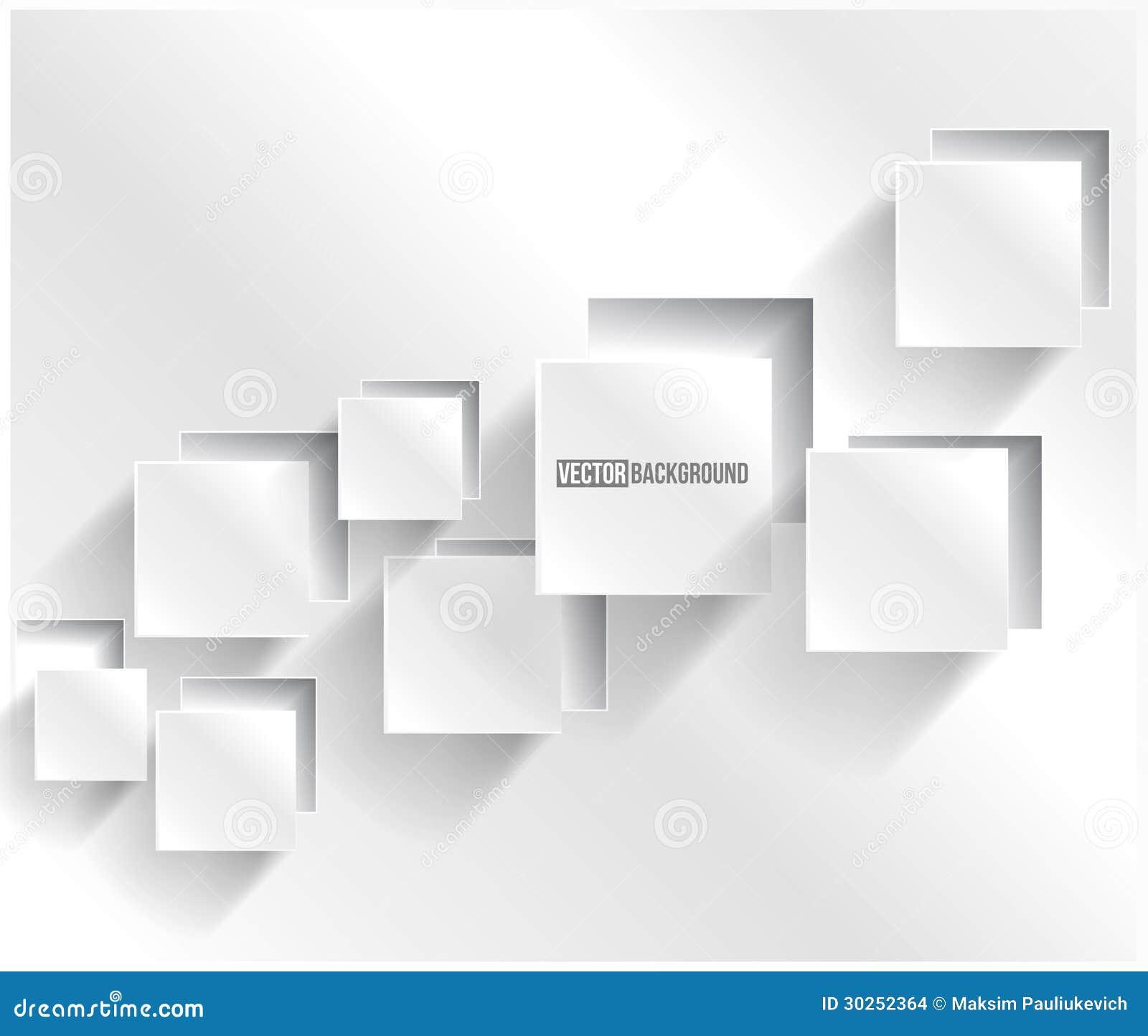 Cuadrado abstracto del fondo del vector. Diseño web