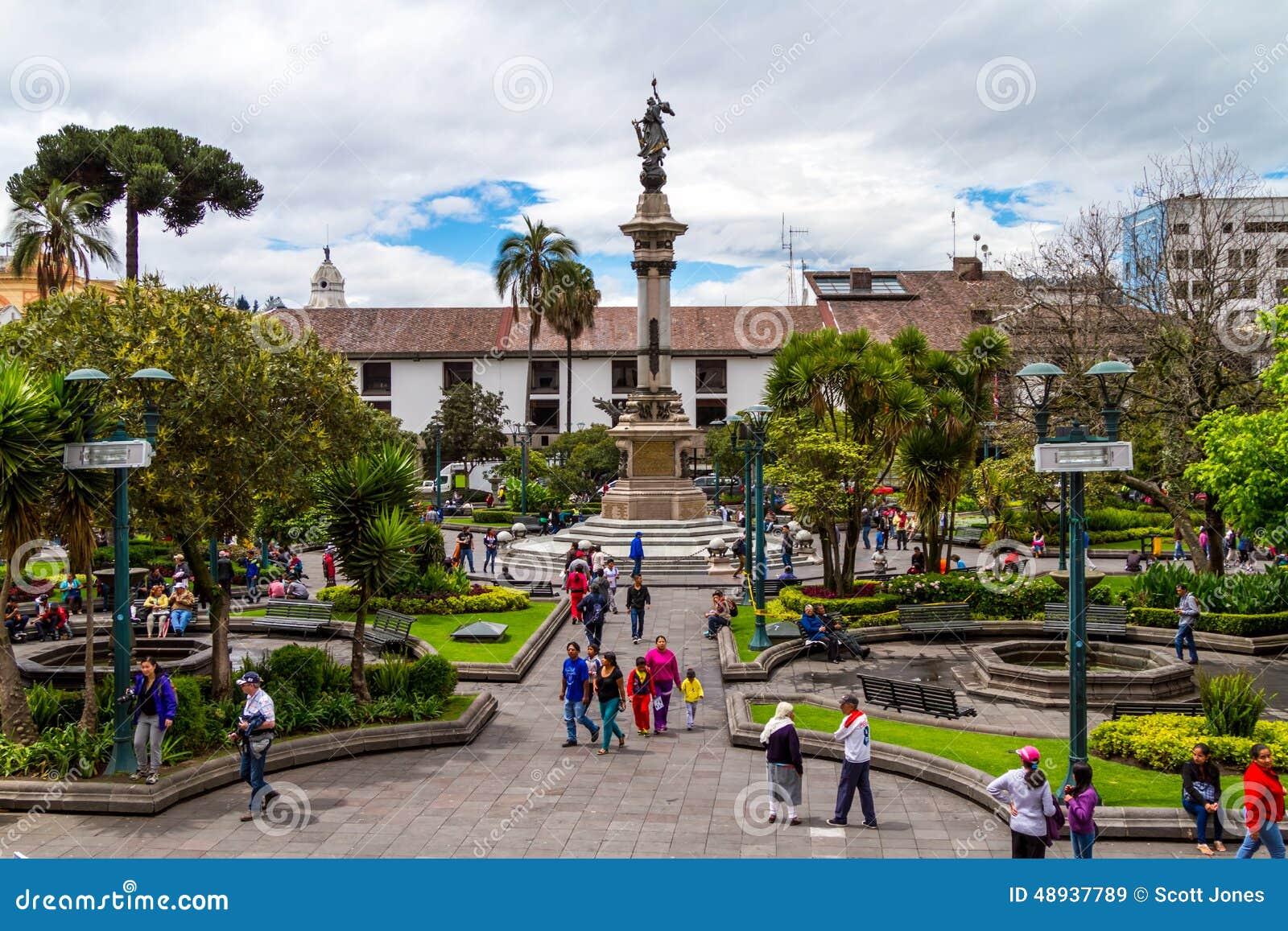 Cuadrado de ciudad de Quito