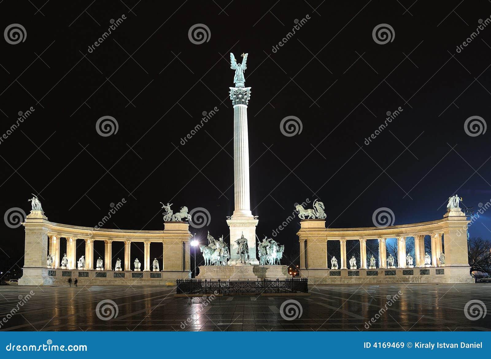 Cuadrado de los héroes - Budapest