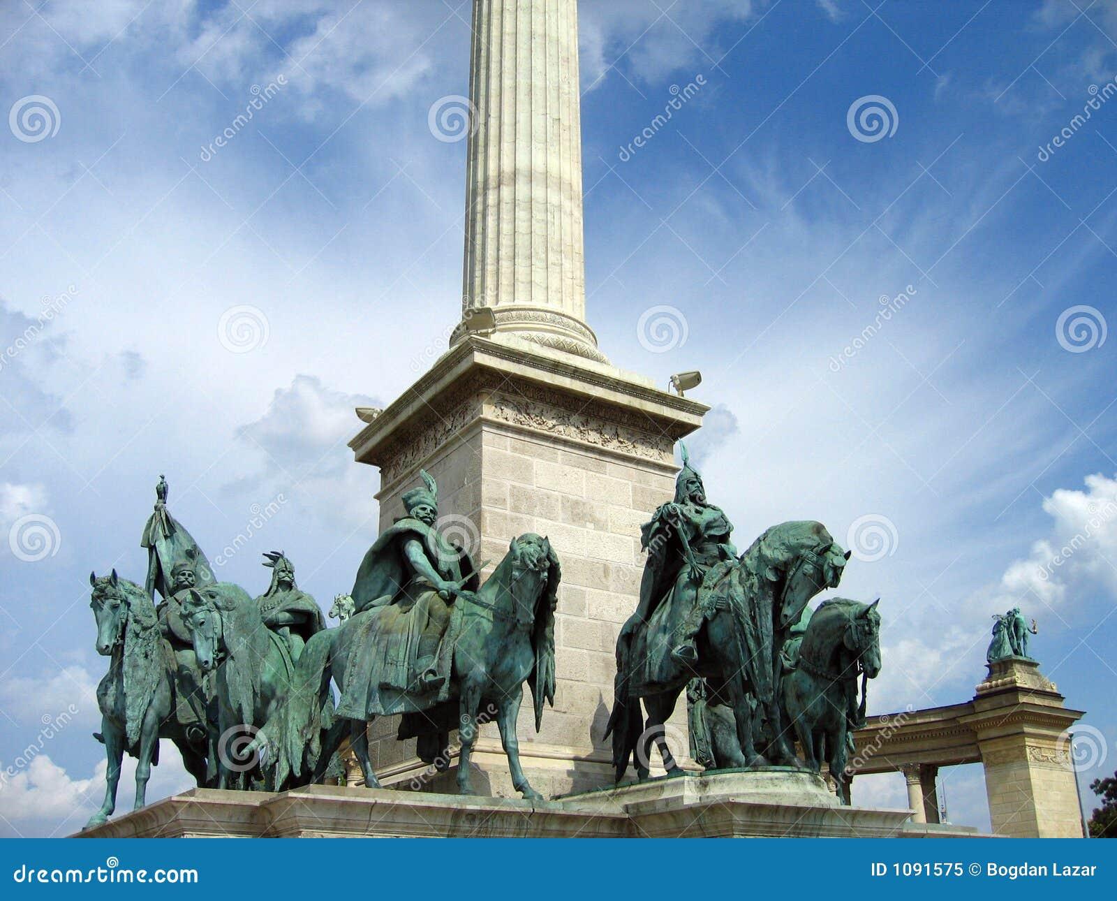 Cuadrado de los héroes - Budapest, Hungría