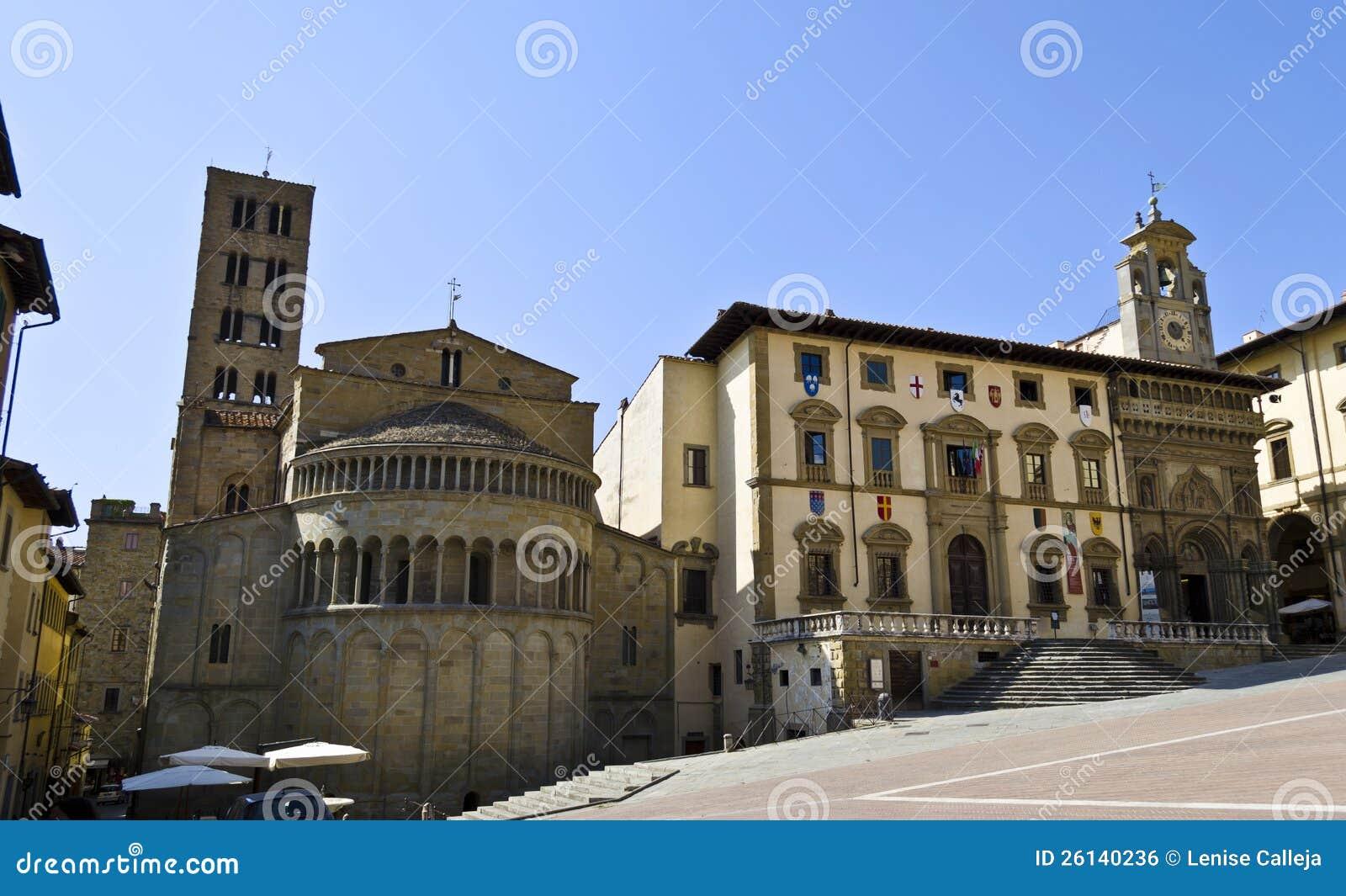 Cuadrado principal de Arezzo