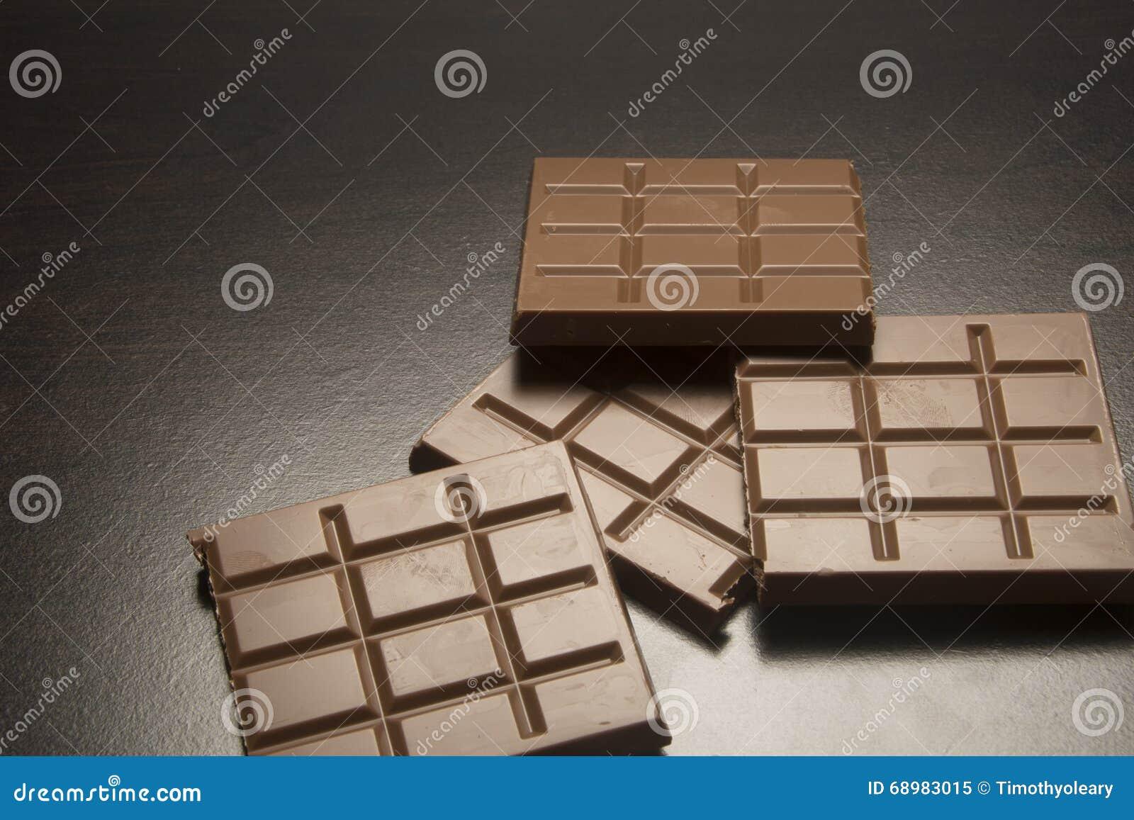 Cuadrados del chocolate