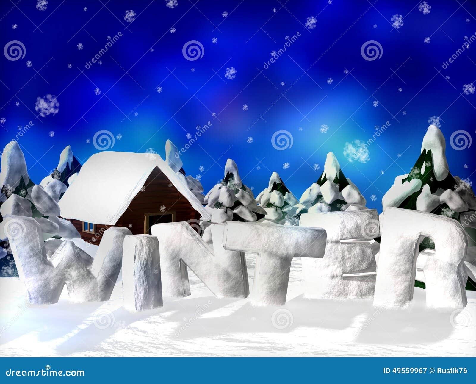 Cuadro del invierno