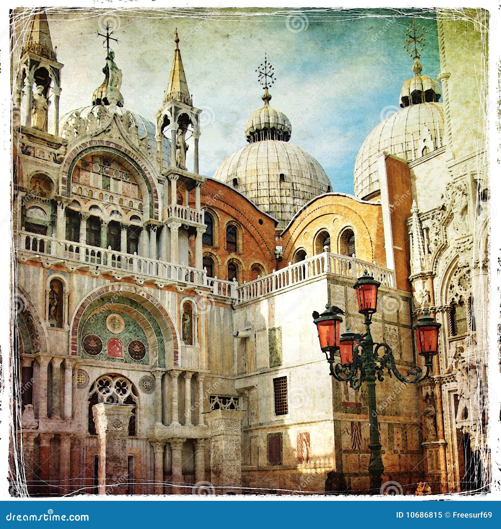 Cuadros venecianos imagen de archivo. Imagen de italiano - 10686815