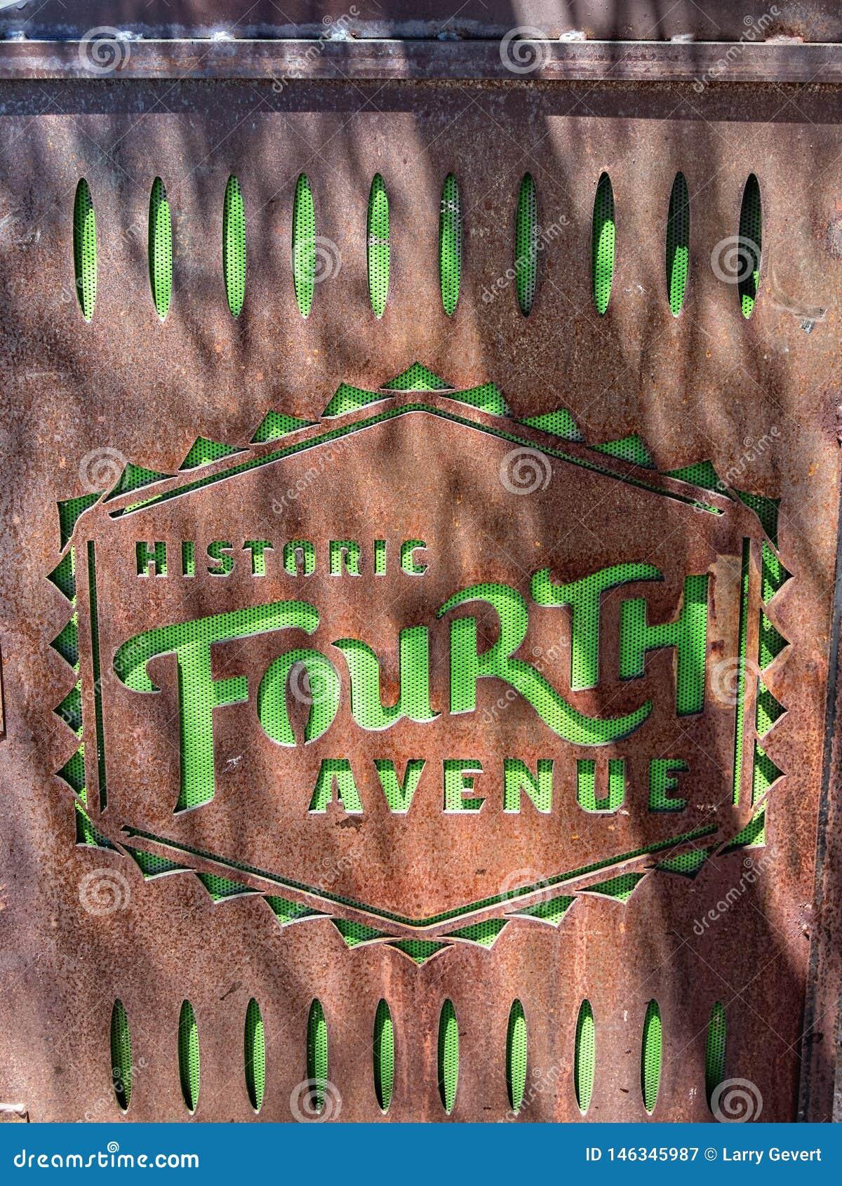 Cuarta avenida histórica, Tuscon, Arizona