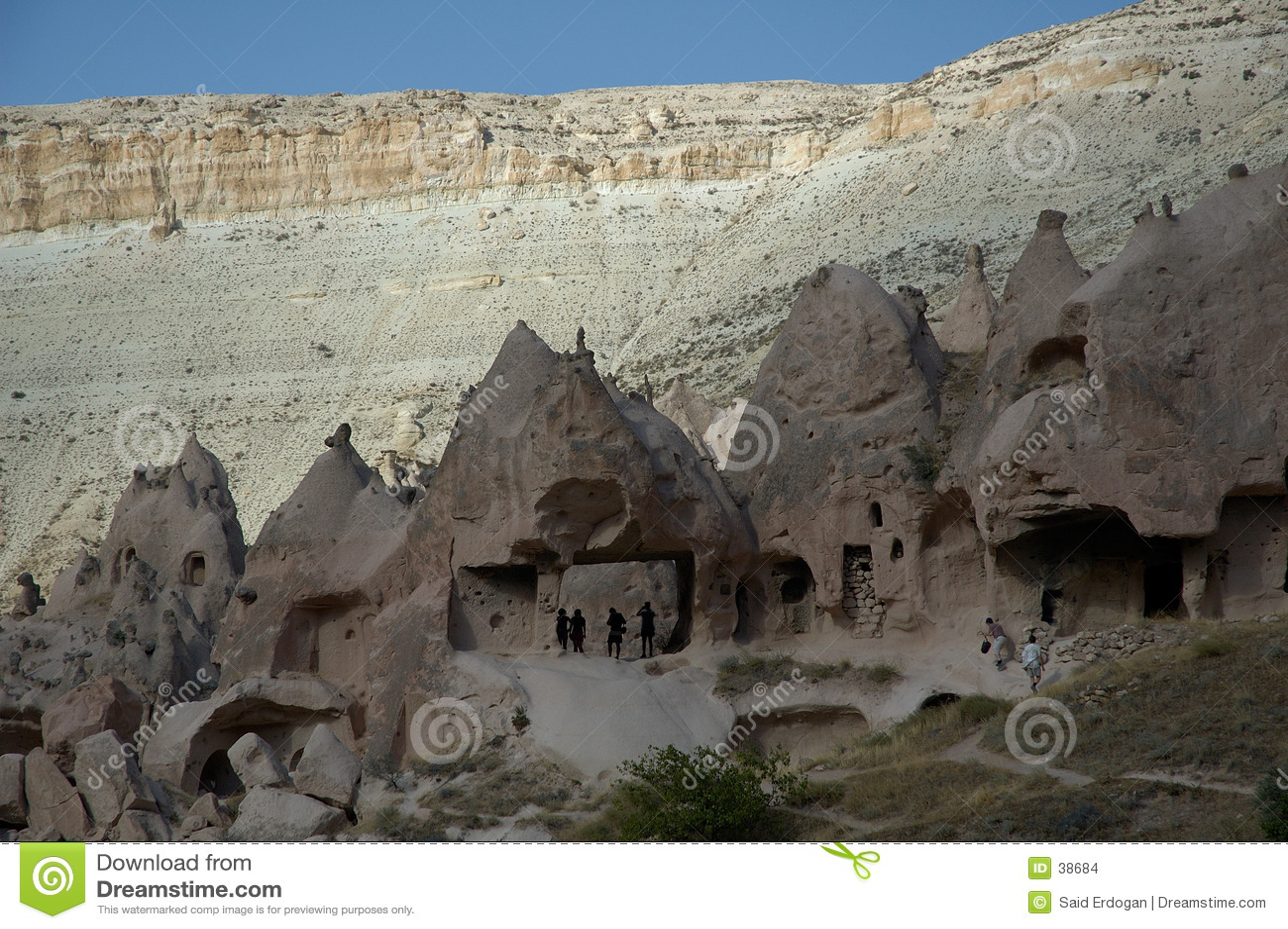 Download Cuarto Antiguo En Cappadocia Walley Foto de archivo - Imagen de horquilla, líneas: 38684