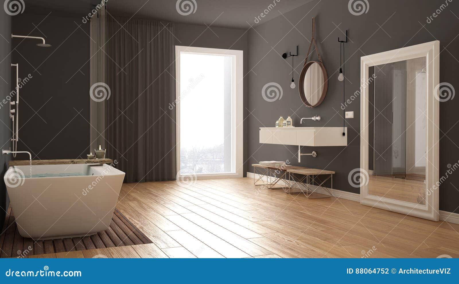 Cuarto De Baño Clásico, Diseño Interior Minimalistic Moderno Foto de ...