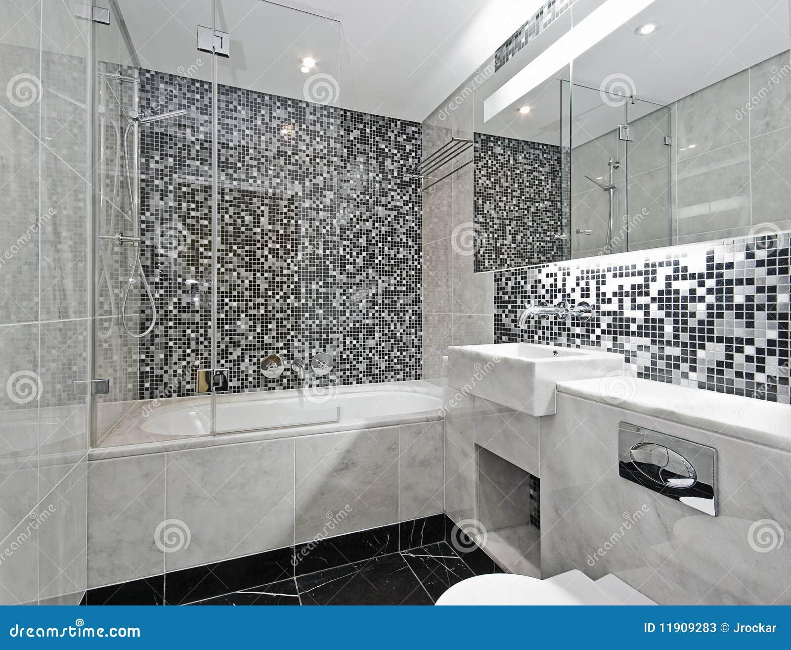 Cuarto De Baño Contemporáneo Imagen de archivo - Imagen de ...