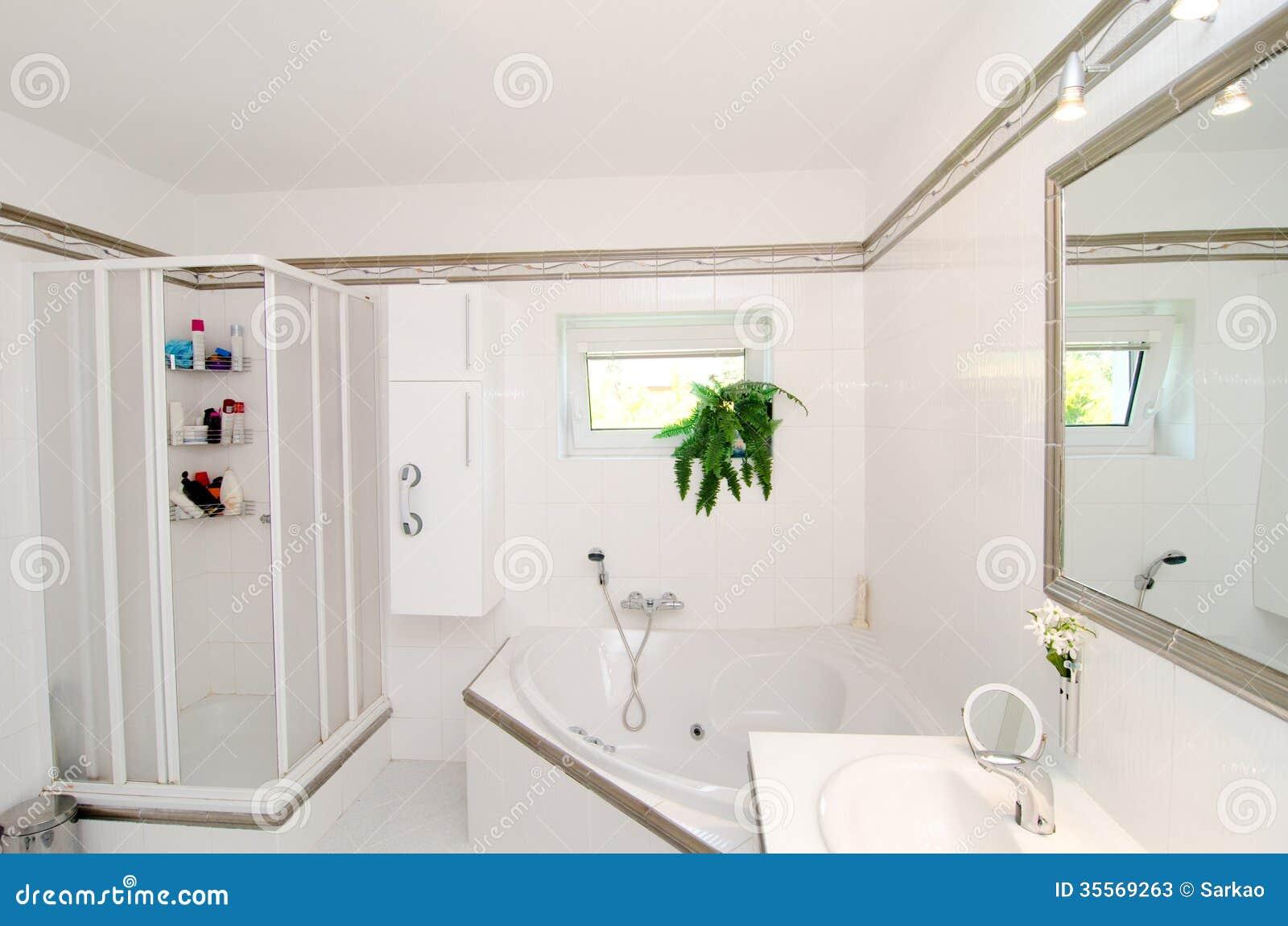 Baño De Lujo Moderno:Cuarto De Baño De Lujo Moderno Fotos de archivo – Imagen: 35569263