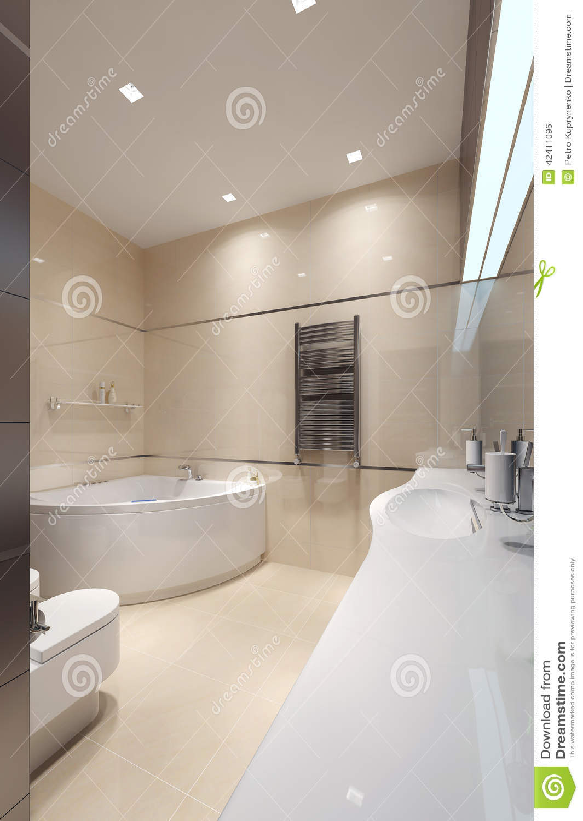 Cuarto de ba o en estilo moderno - Cuarto de bano moderno ...
