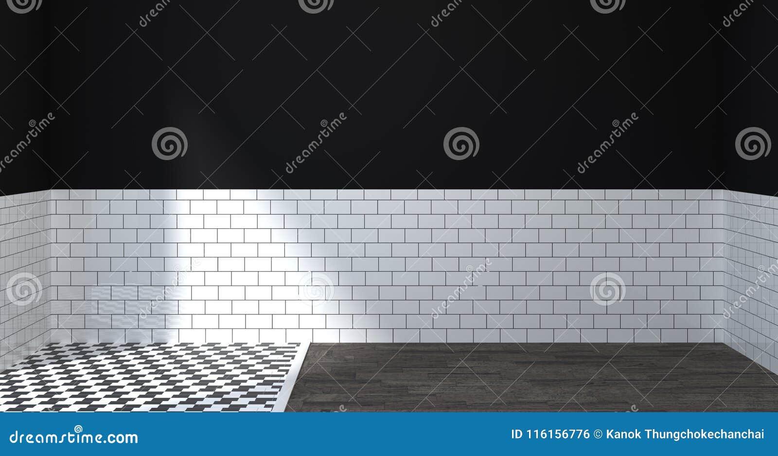 Cuarto De Baño Interior Moderno Retrete Ducha Ejemplo Del