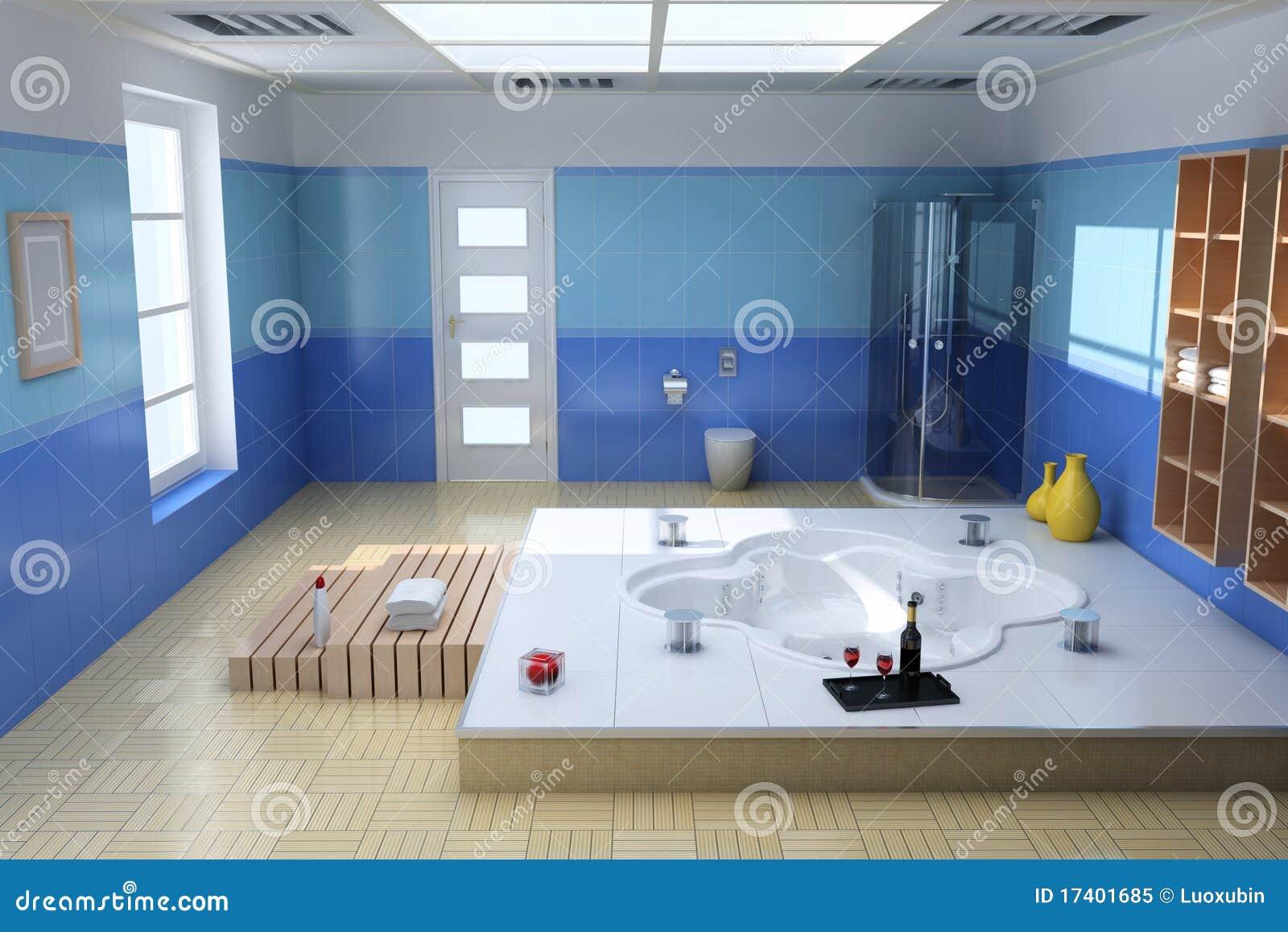 Baño De Lujo Moderno:Cuarto De Baño Moderno De Lujo Foto de archivo libre de regalías