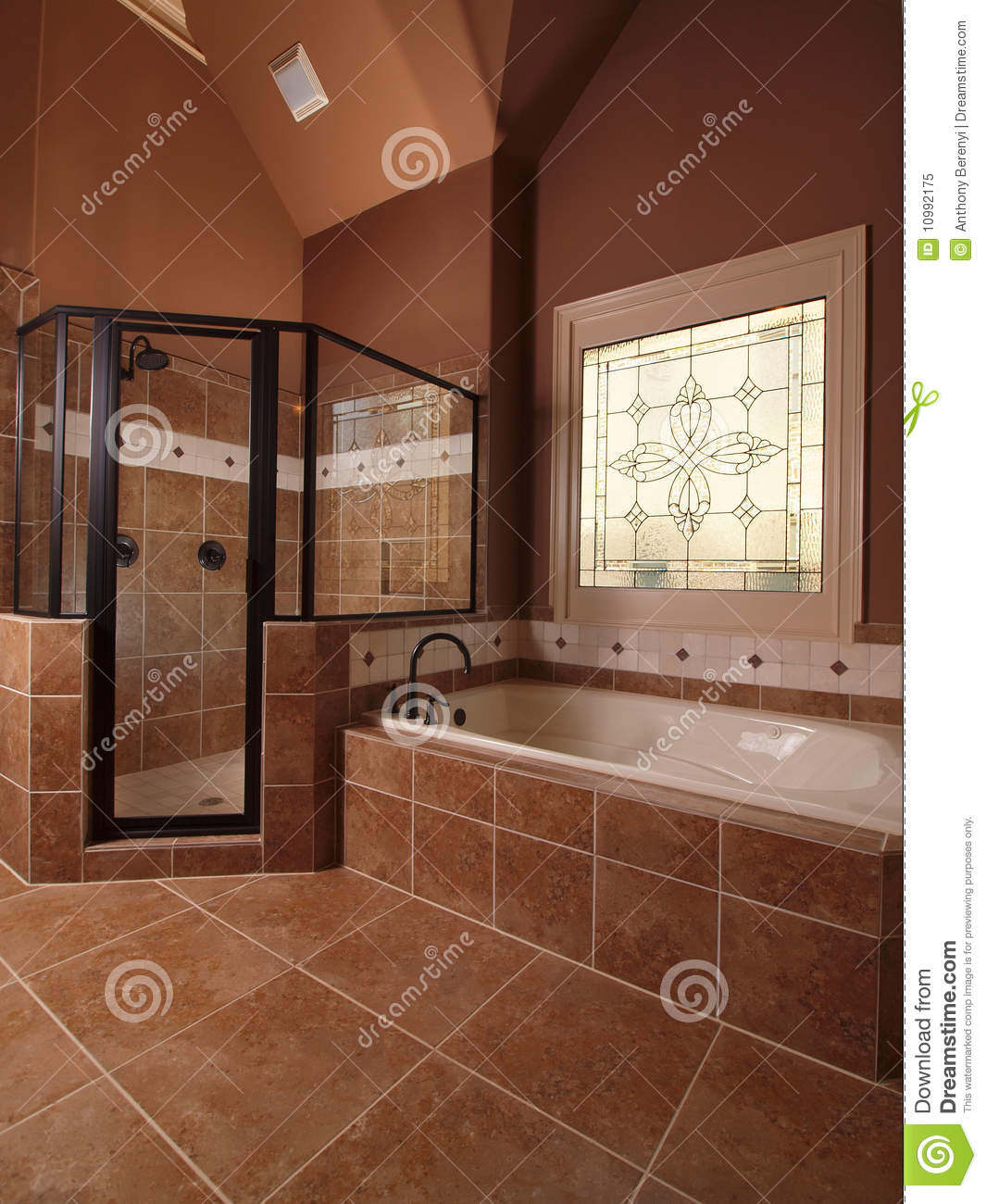 Tinas De Baño De Azulejo:Bathroom Tile with Window
