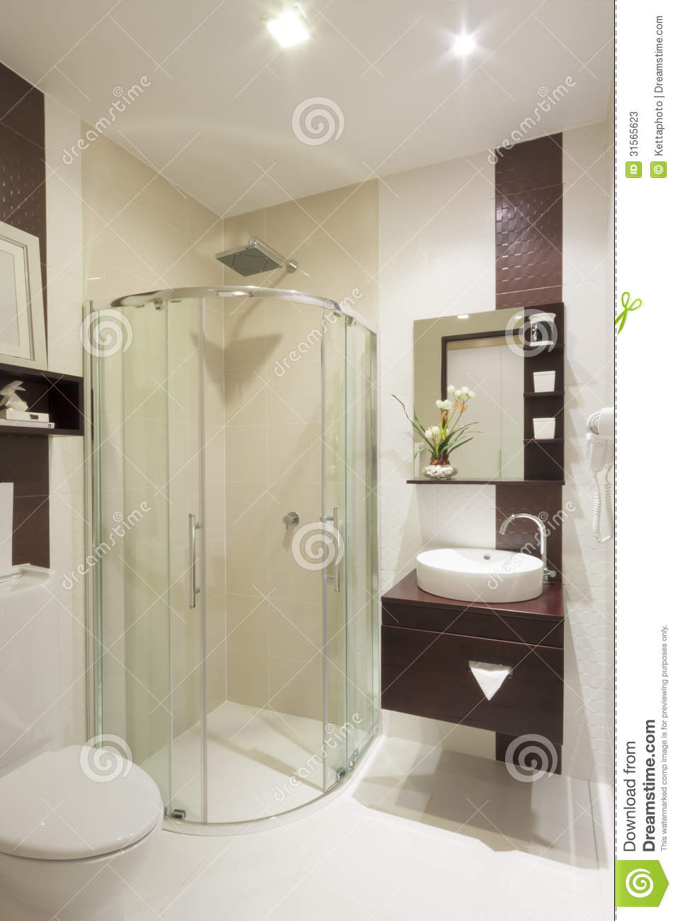 Baño De Lujo Pequeno:Small Luxury Hotel Bathroom