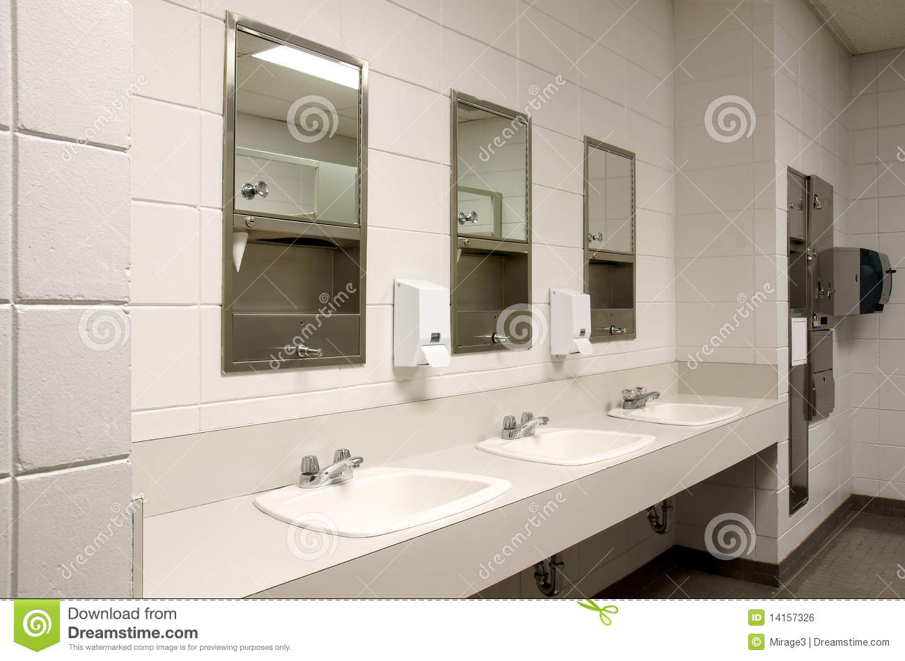 Diseno De Un Baño Publico:School Bathroom Sinks