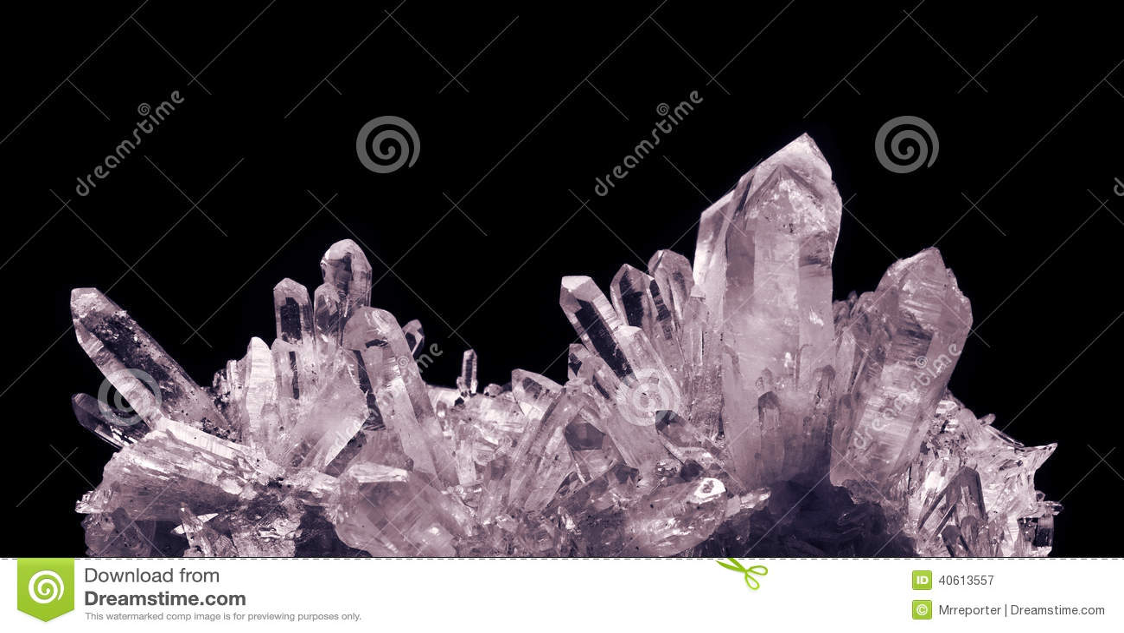 Cuarzo cristalino