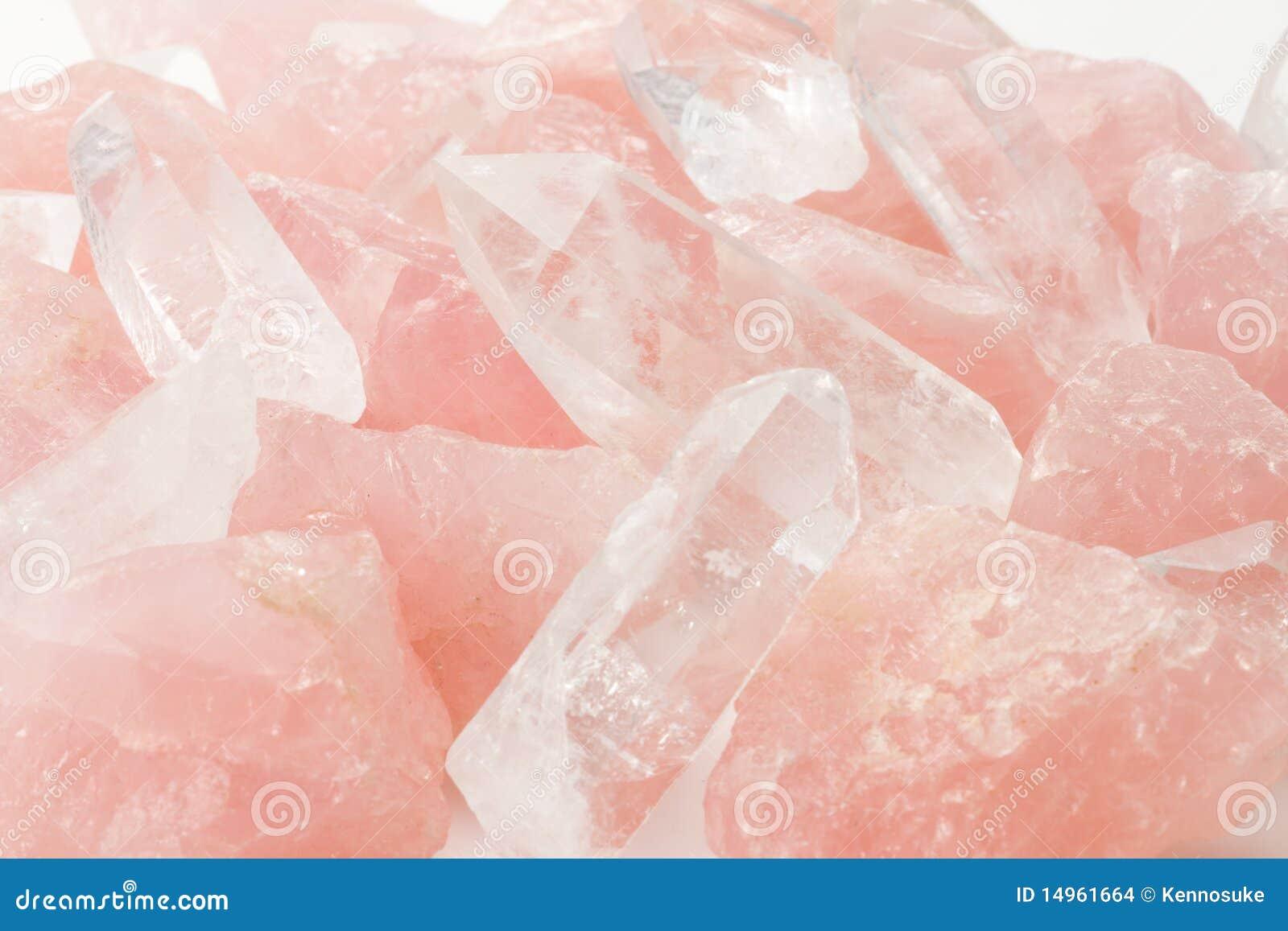 Cuarzo y cristal de Rose