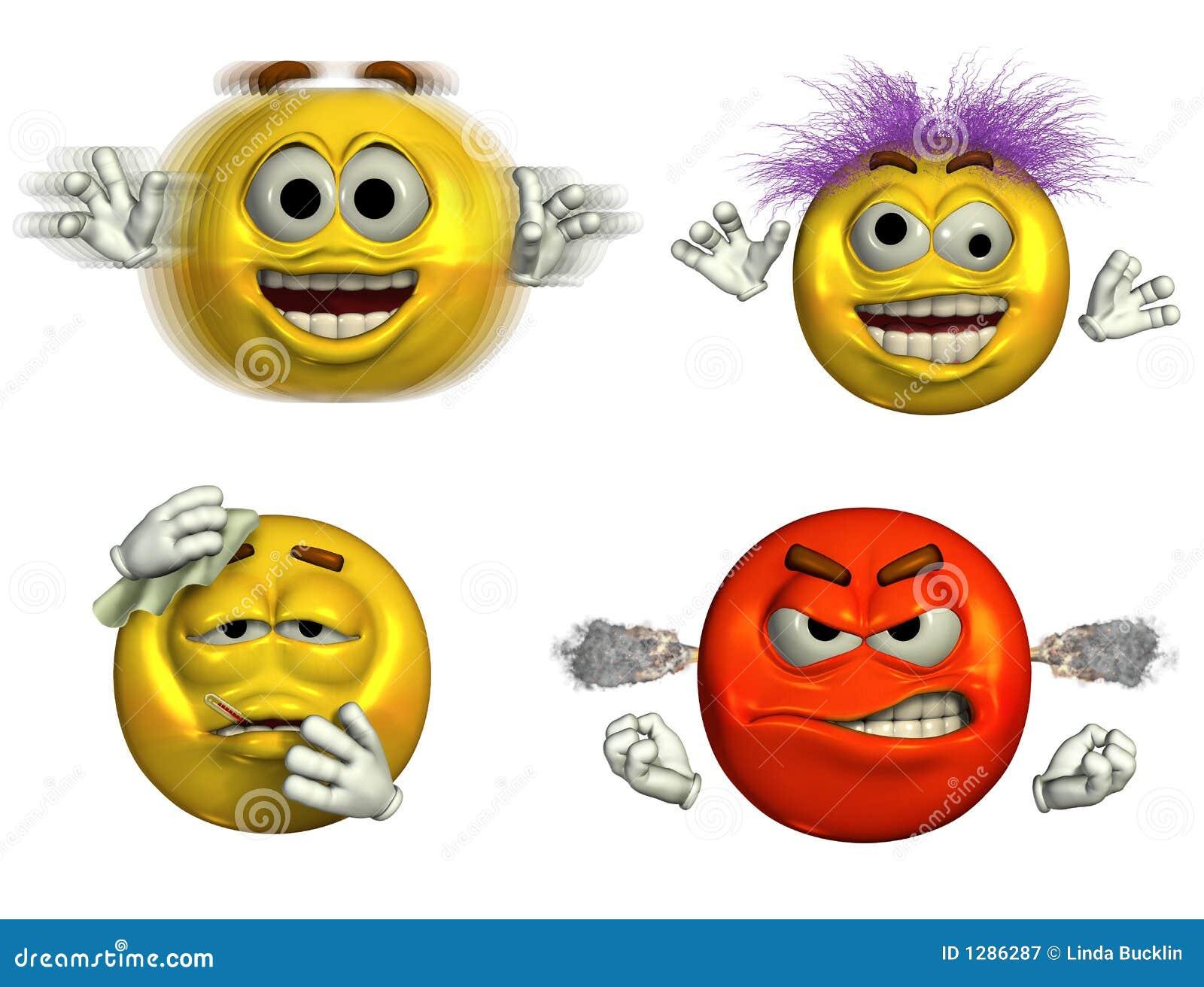 Cuatro Emoticons- 6